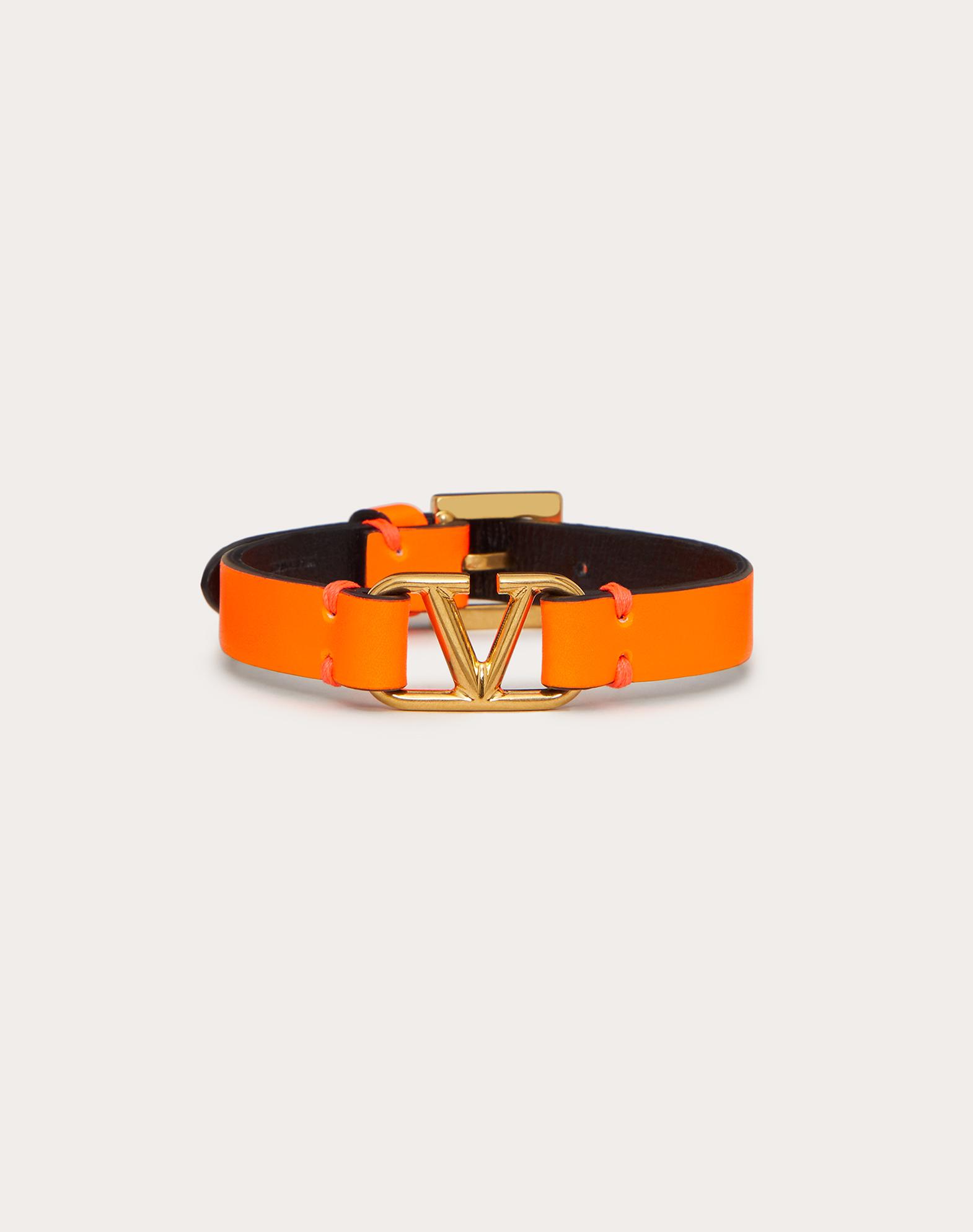 VLOGO leather bracelet