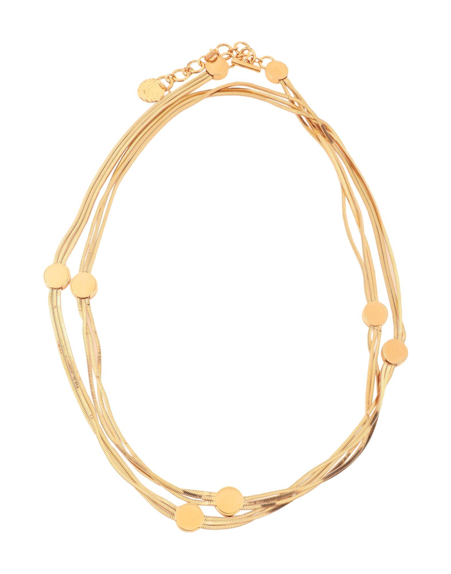 《セール開催中》LANVIN レディース ネックレス ゴールド 真鍮/ブラス 100%