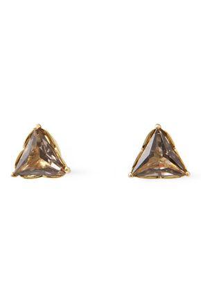 KATE SPADE New York Gold-tone crystal earrings