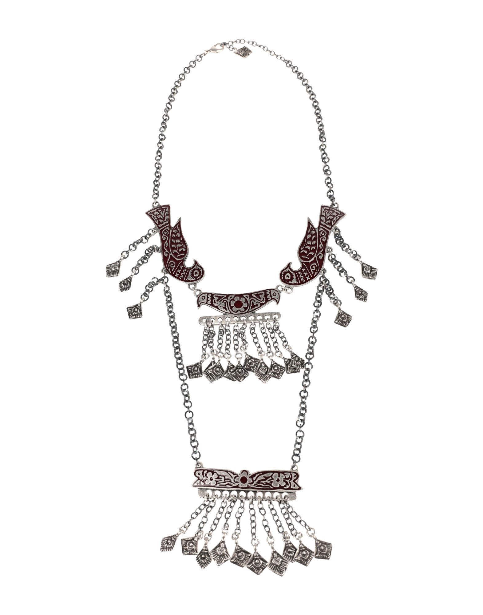 《セール開催中》MIAHATAMI レディース ネックレス シルバー ザマック合金 100% / 真鍮/ブラス