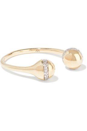 ADINA REYTER 14-karat gold diamond ring