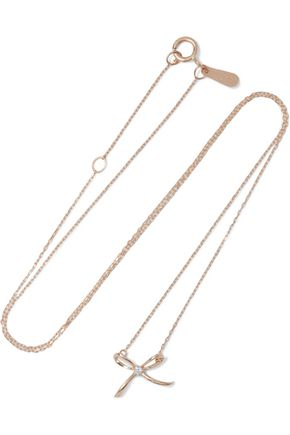 ADINA REYTER 14-karat gold diamond necklace