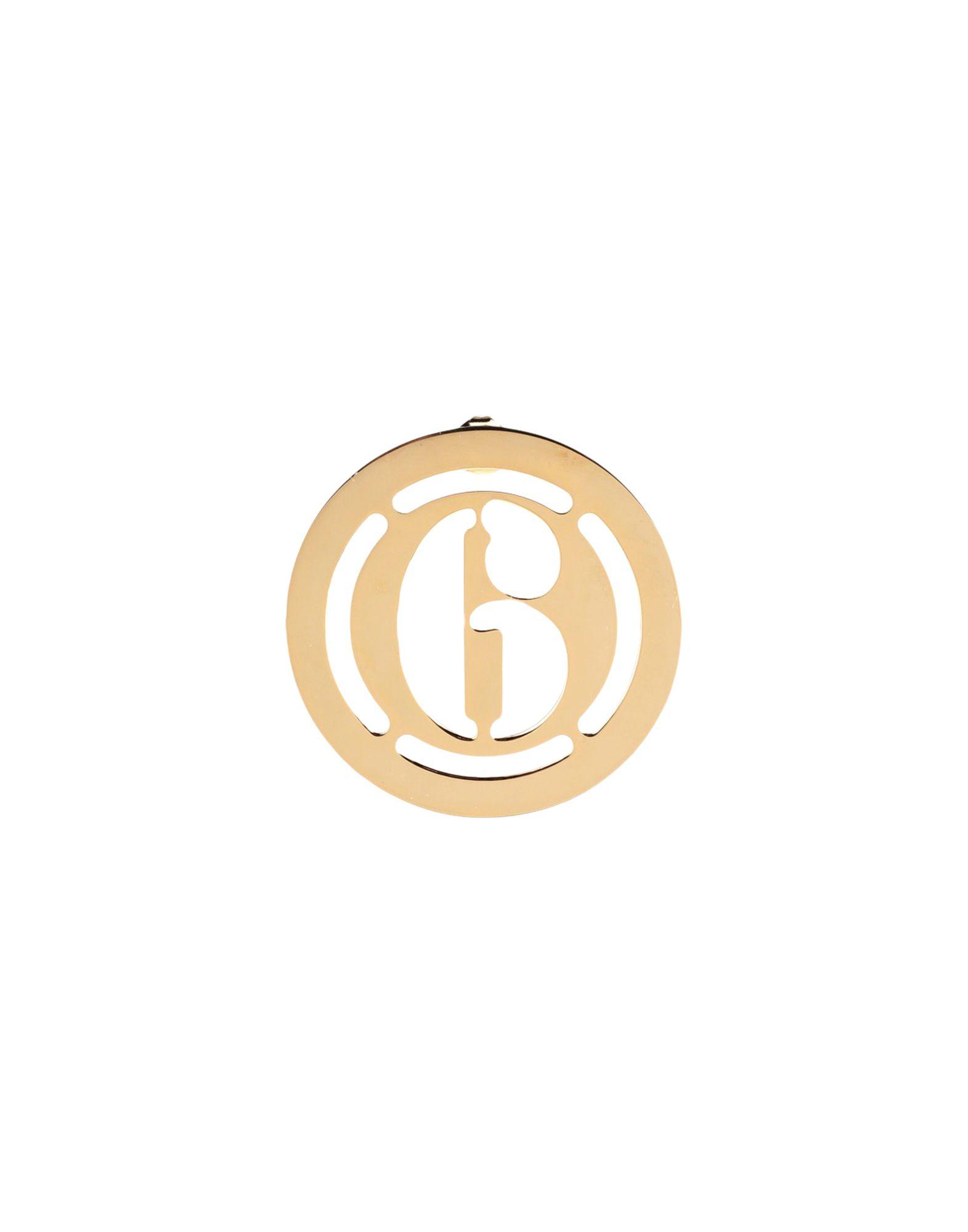 《セール開催中》MM6 MAISON MARGIELA レディース ピアス&イヤリング ゴールド 真鍮/ブラス 100%
