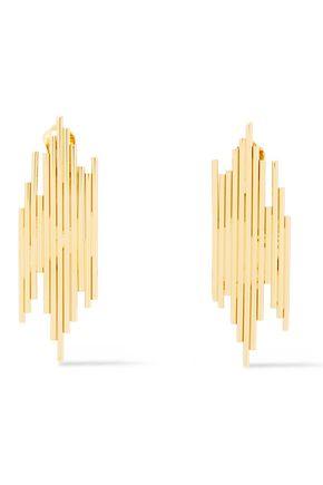 ALBERTA FERRETTI Gold-tone earrings