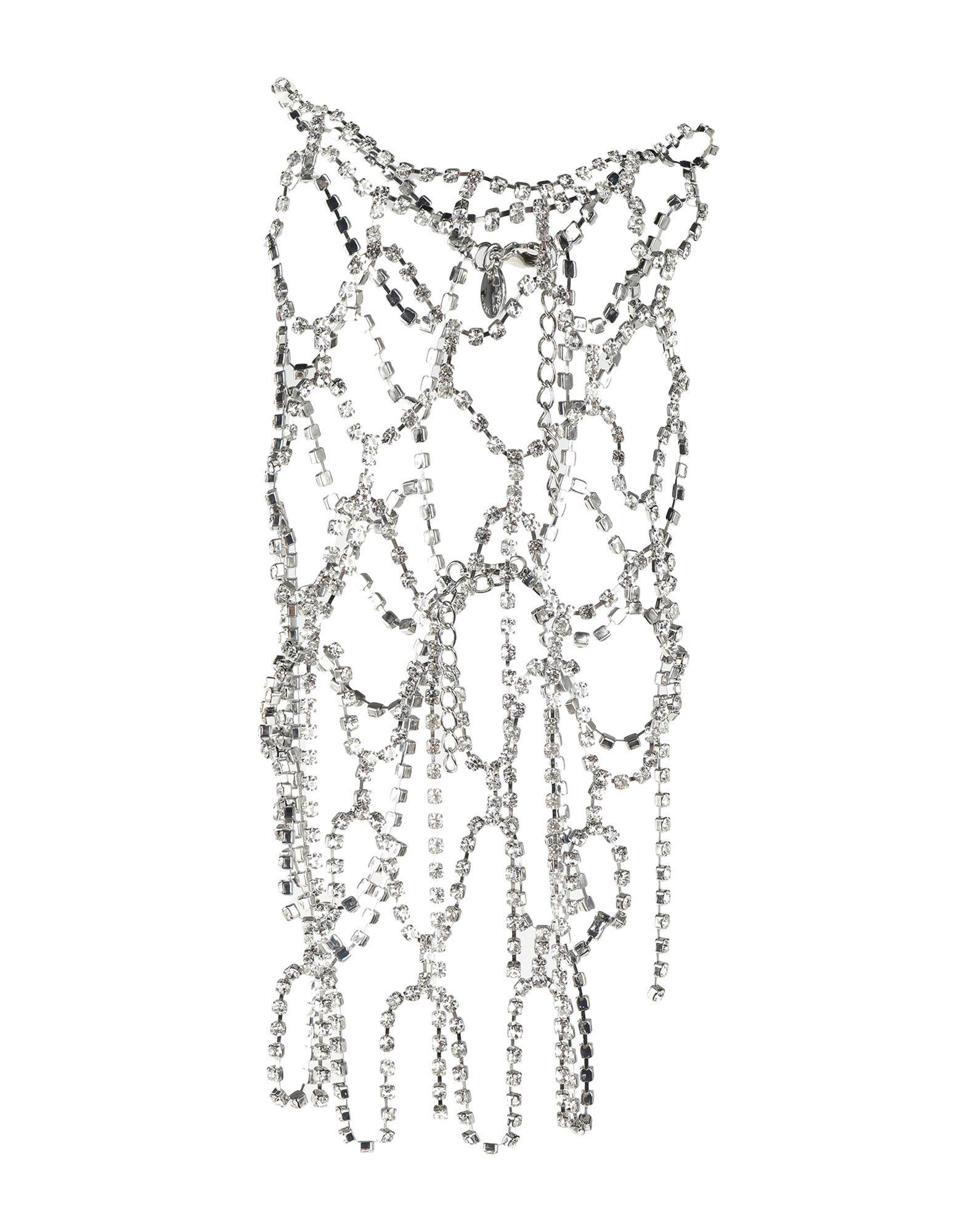 《セール開催中》MARC CAIN レディース ネックレス シルバー 金属 / ガラス