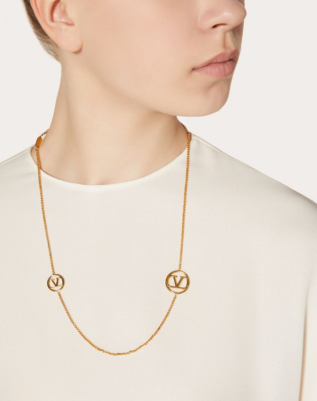 VLOGO Metal Necklace