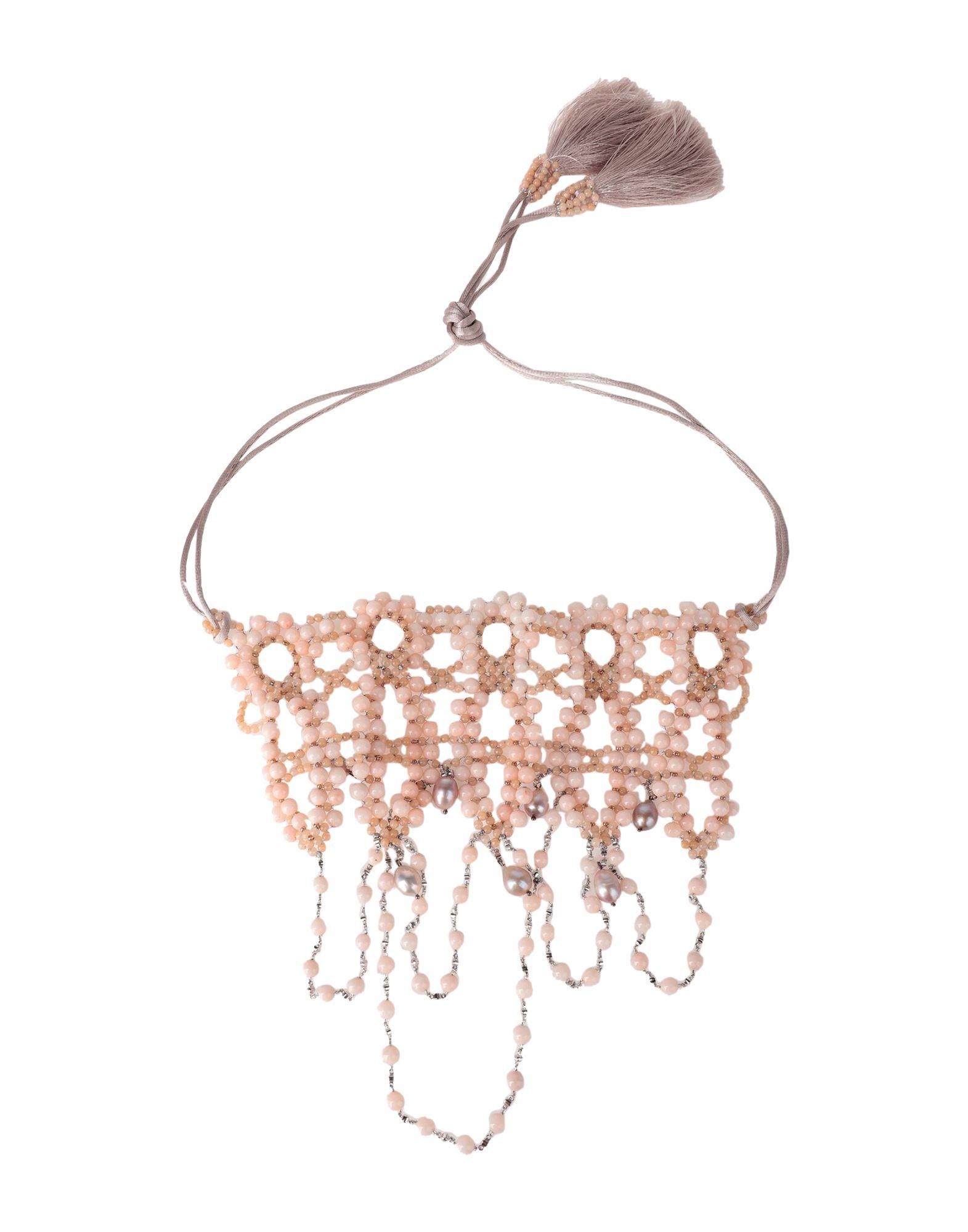 《セール開催中》NIGHTMARKET. IT レディース ネックレス ピンク 石 / 紡績繊維