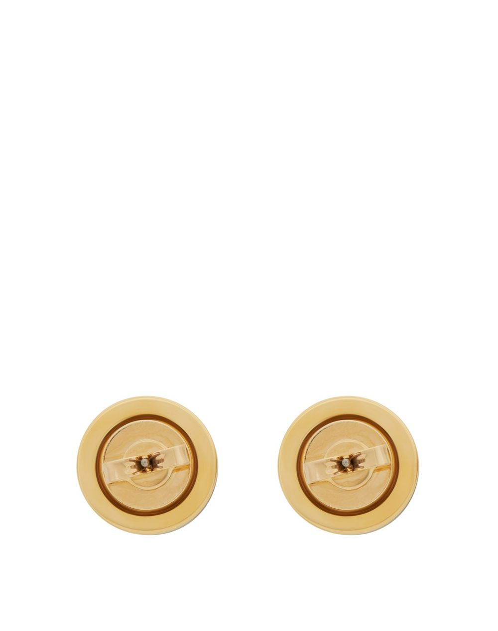 SEAL STUD EARRINGS WITH CANADIAN JADE - Lanvin