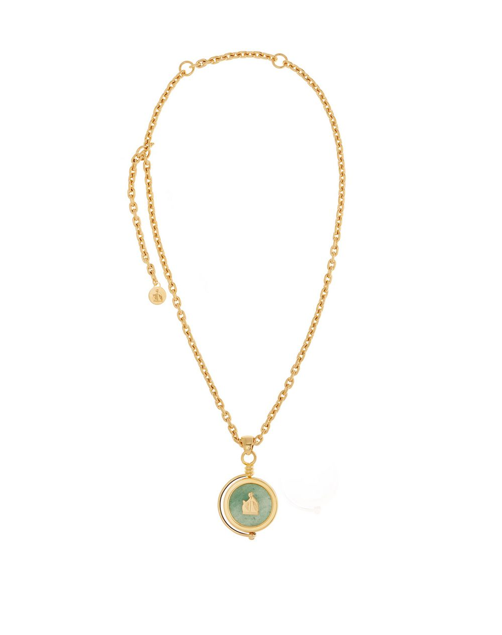SEAL NECKLACE WITH CANADIAN JADE - Lanvin