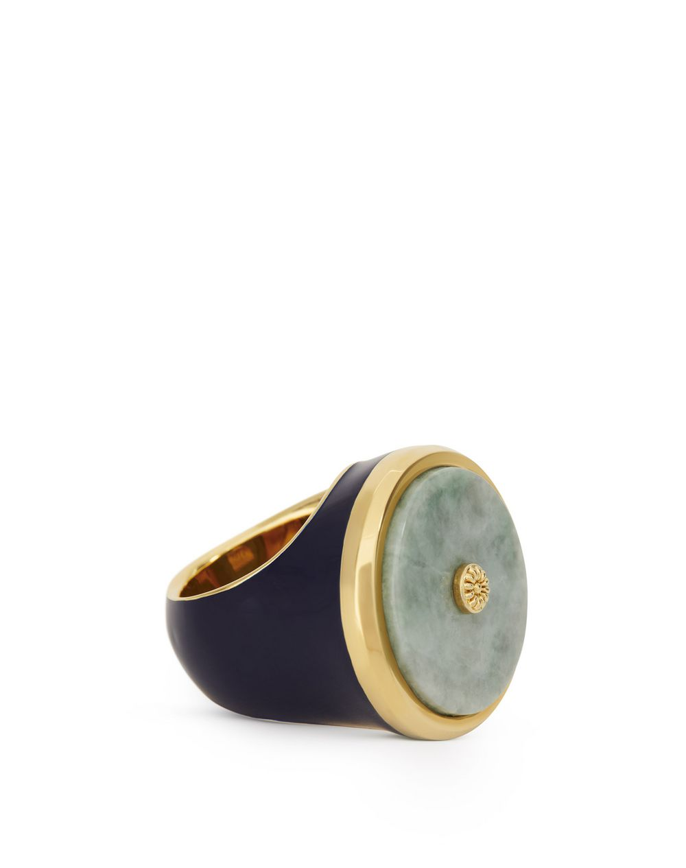 SEAL RING WITH CANADIAN JADE - Lanvin