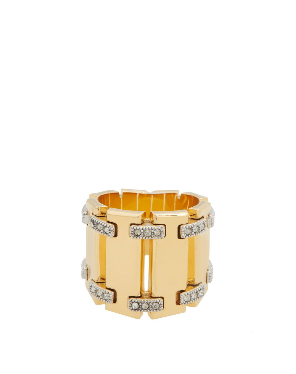 GOURMETTE RING WITH STRASS - Lanvin