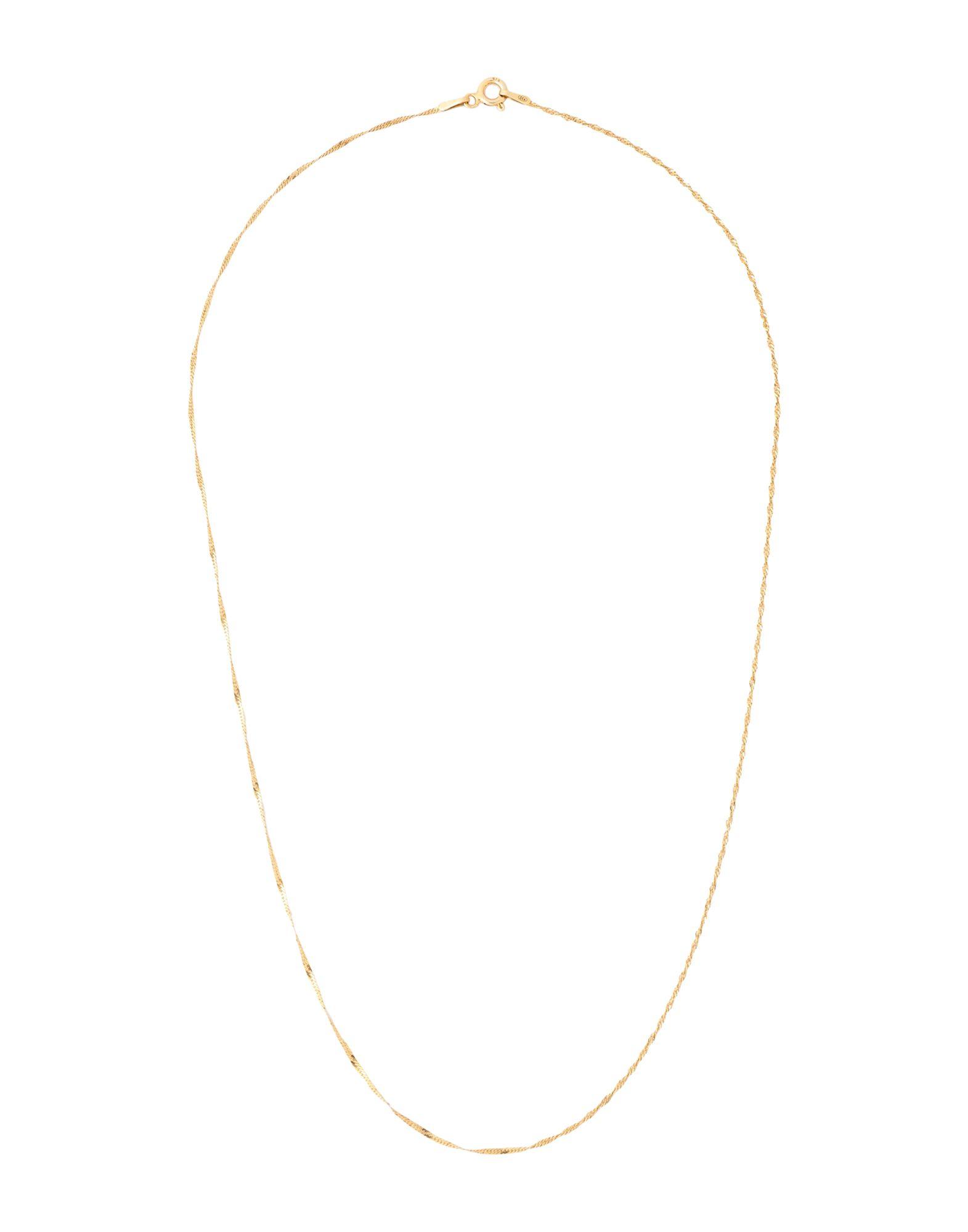 《セール開催中》HERMINA ATHENS レディース ネックレス ゴールド シルバー925/1000 100% SINGAPORE CHAIN
