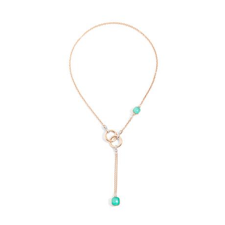 POMELLATO Nudo lariat necklace C.B905 E f