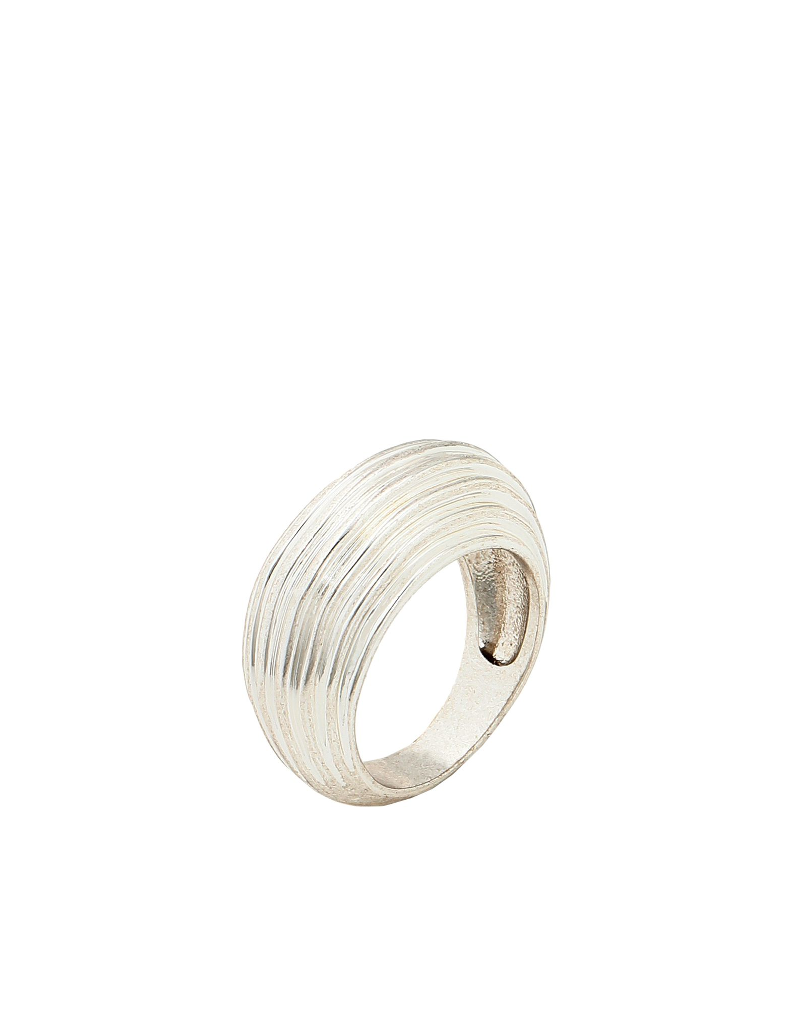 《セール開催中》LUV AJ レディース 指輪 シルバー 6 真鍮/ブラス WAVE DOME RING