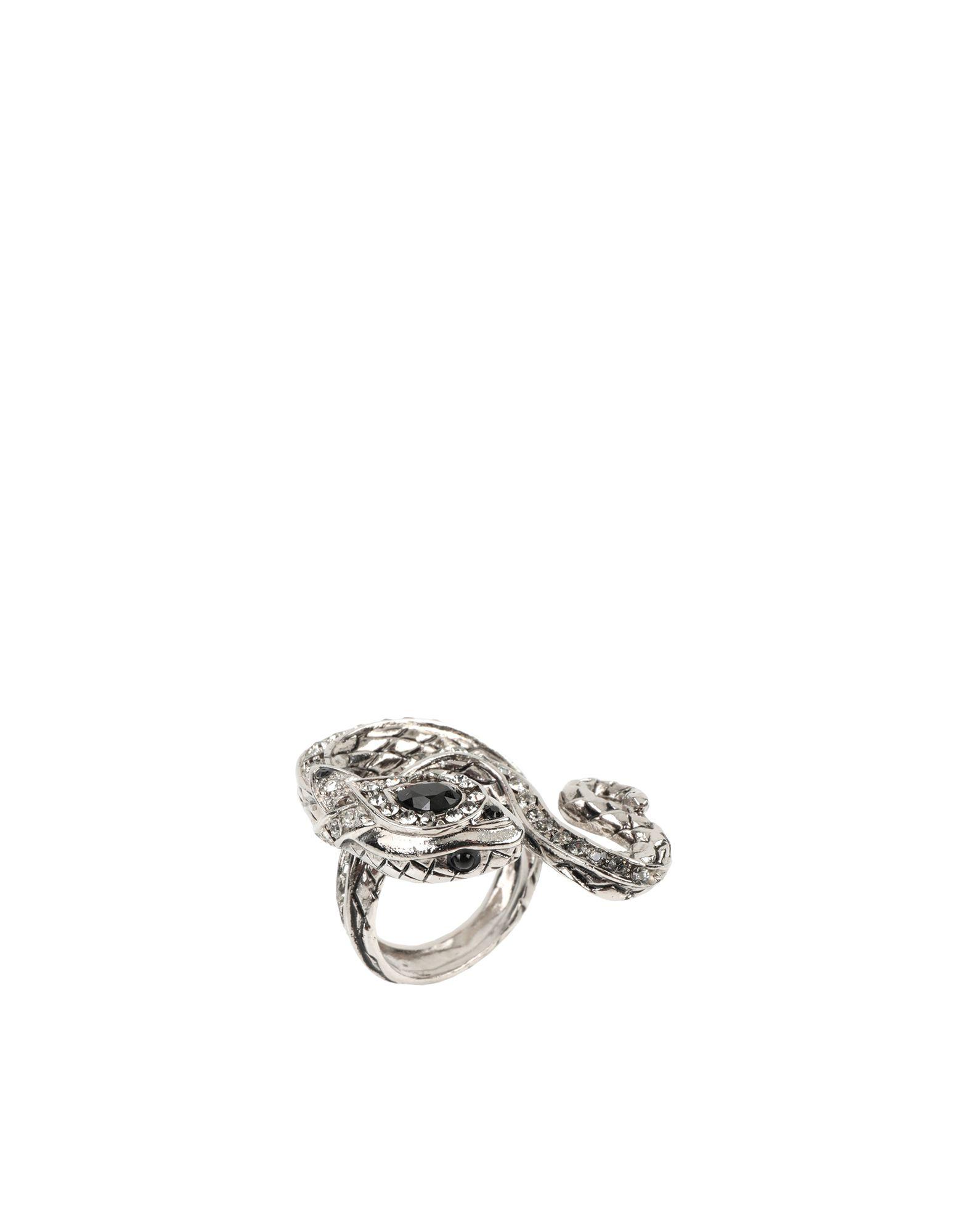 《セール開催中》ROBERTO CAVALLI レディース 指輪 シルバー one size 金属