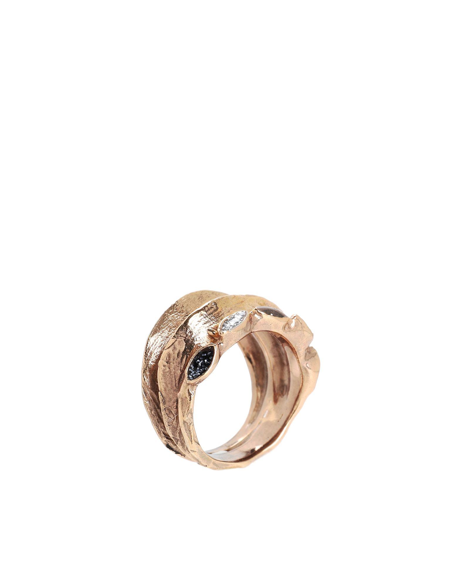 《セール開催中》VOODOO JEWELS レディース 指輪 ゴールド 50 ブロンズ / ポリウレタン SYN RING