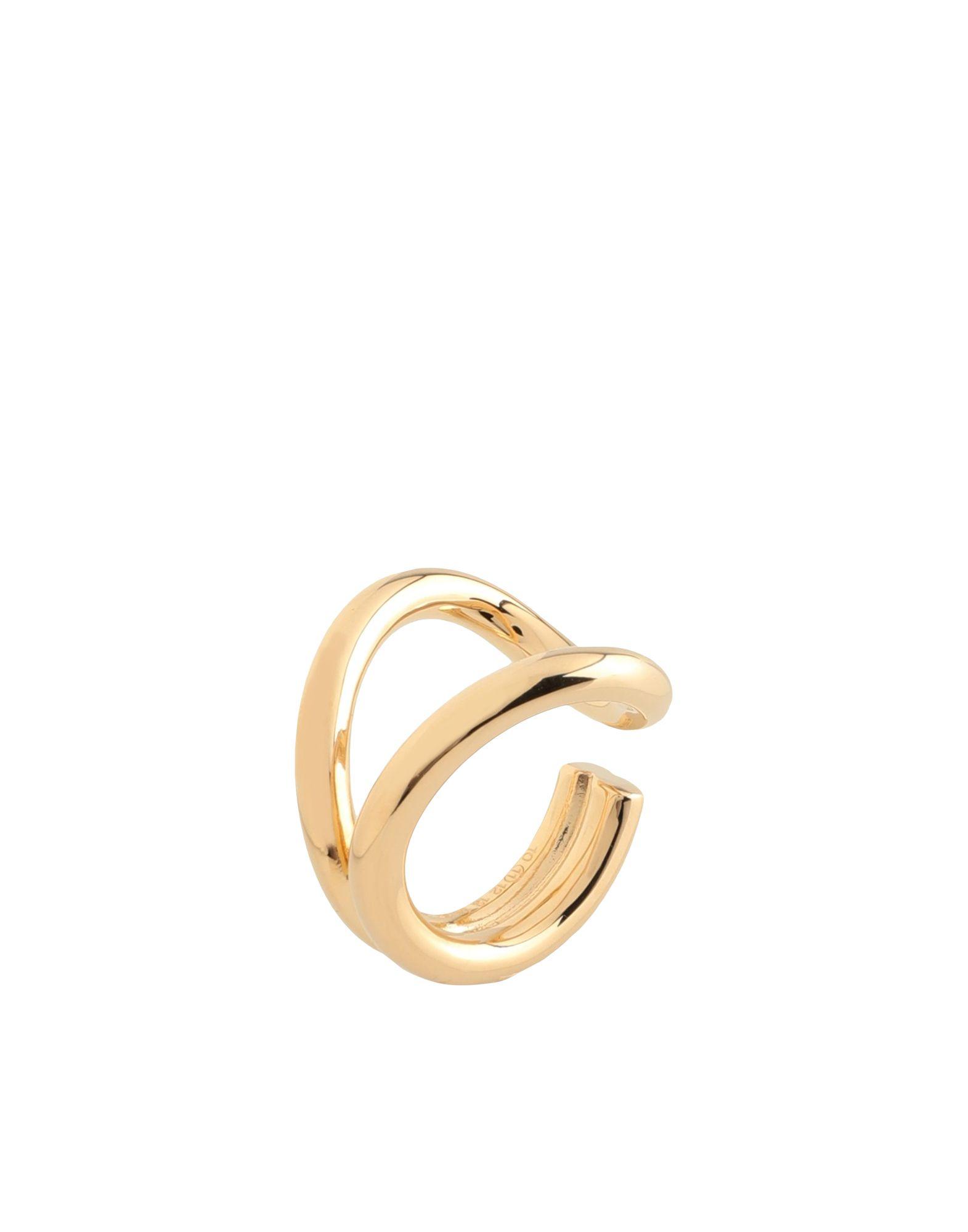 《セール開催中》MAISON MARGIELA メンズ 指輪 ゴールド S 真鍮/ブラス 100%