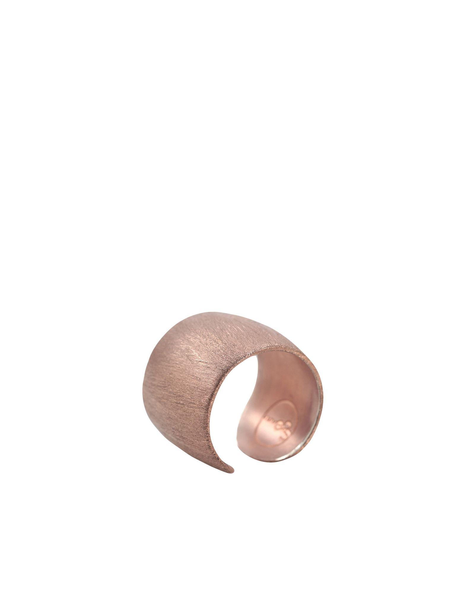 《セール開催中》NOVE25 レディース 指輪 カッパー 14 シルバー925/1000 EMBOSSED RING