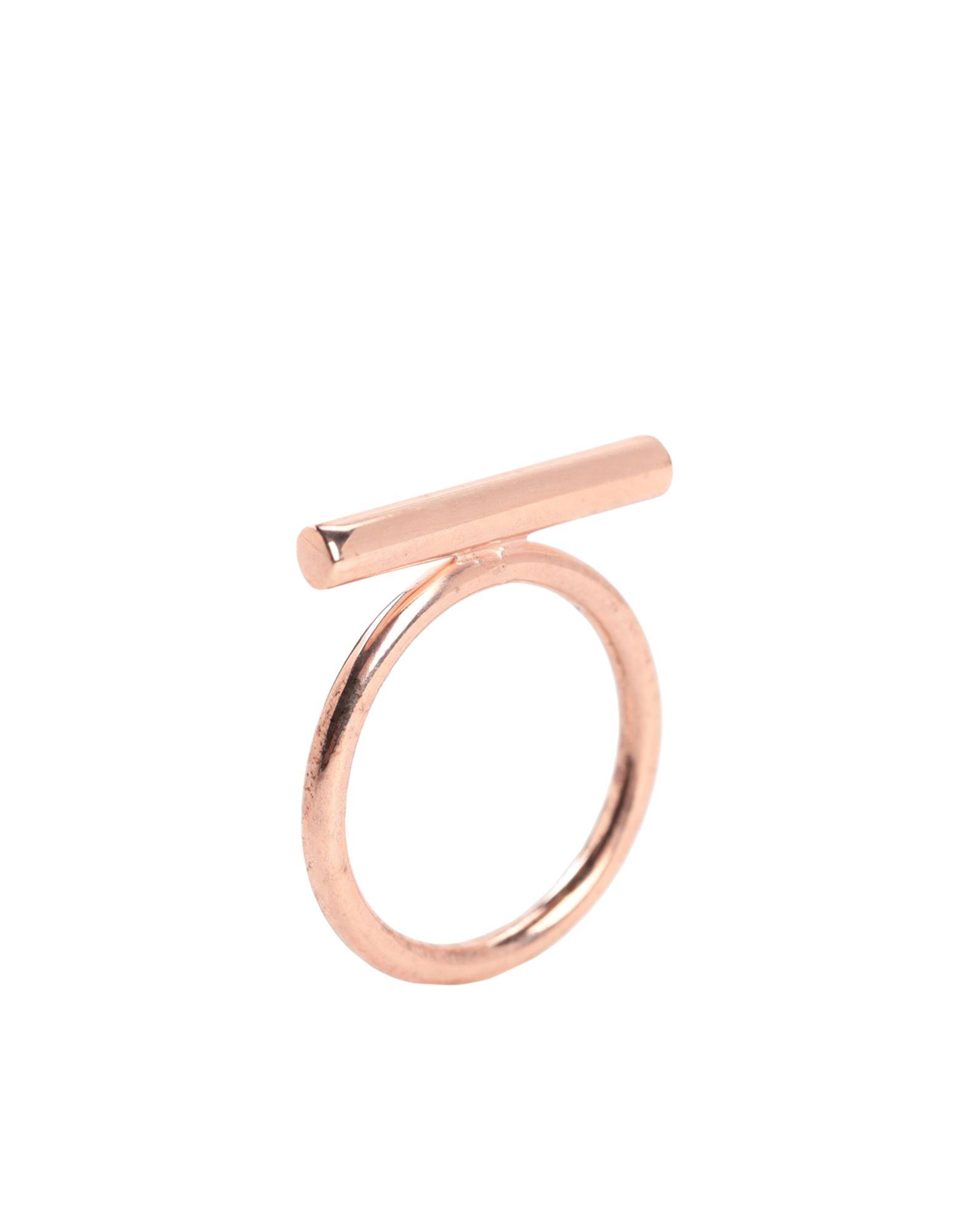 《セール開催中》NOVE25 レディース 指輪 カッパー 10 シルバー925/1000 BAR FINE RING