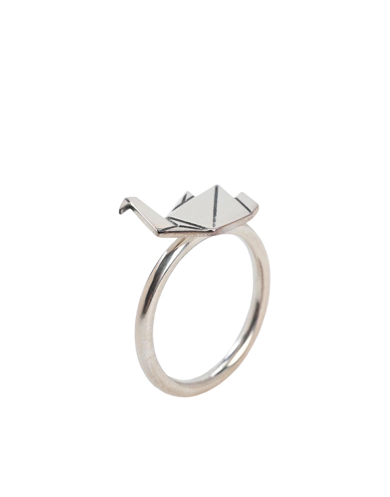 《セール開催中》NOVE25 レディース 指輪 シルバー 10 シルバー925/1000 ORIGAMI SWAN FINE RING