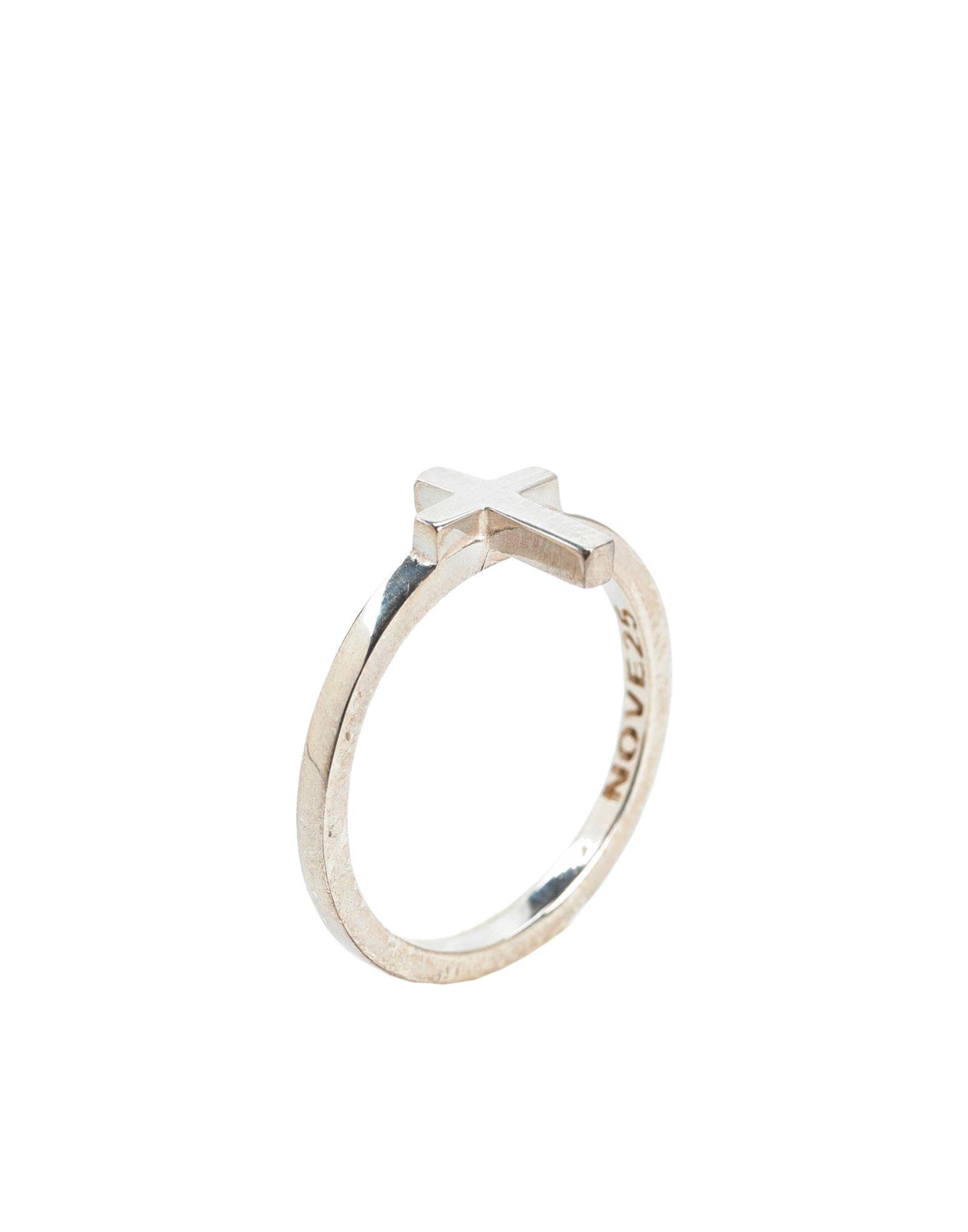 《セール開催中》NOVE25 レディース 指輪 シルバー 10 シルバー925/1000 CROSS FINE RING