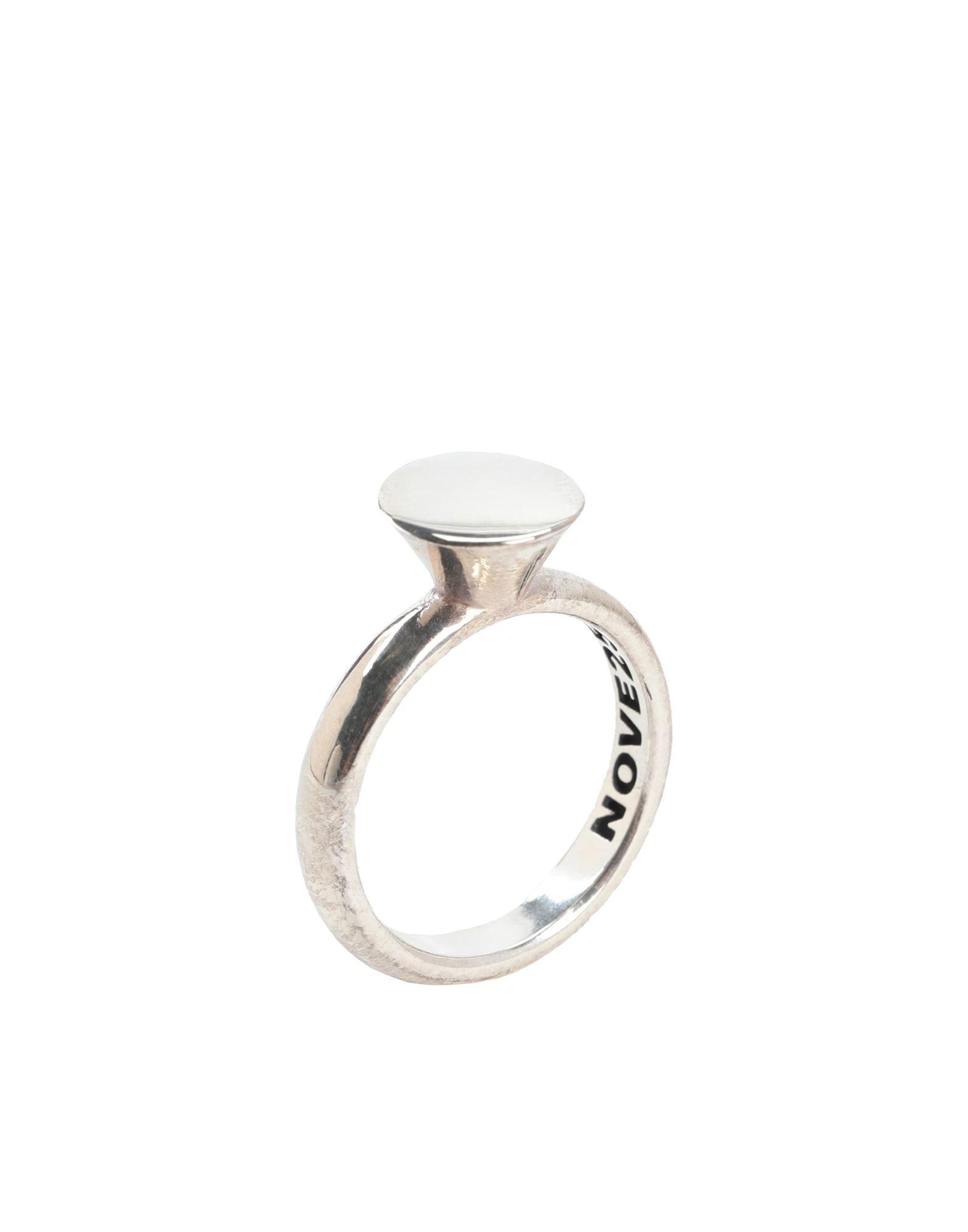 《セール開催中》NOVE25 レディース 指輪 シルバー 9 シルバー925/1000 ROUND SOLITAIRE FINE RING