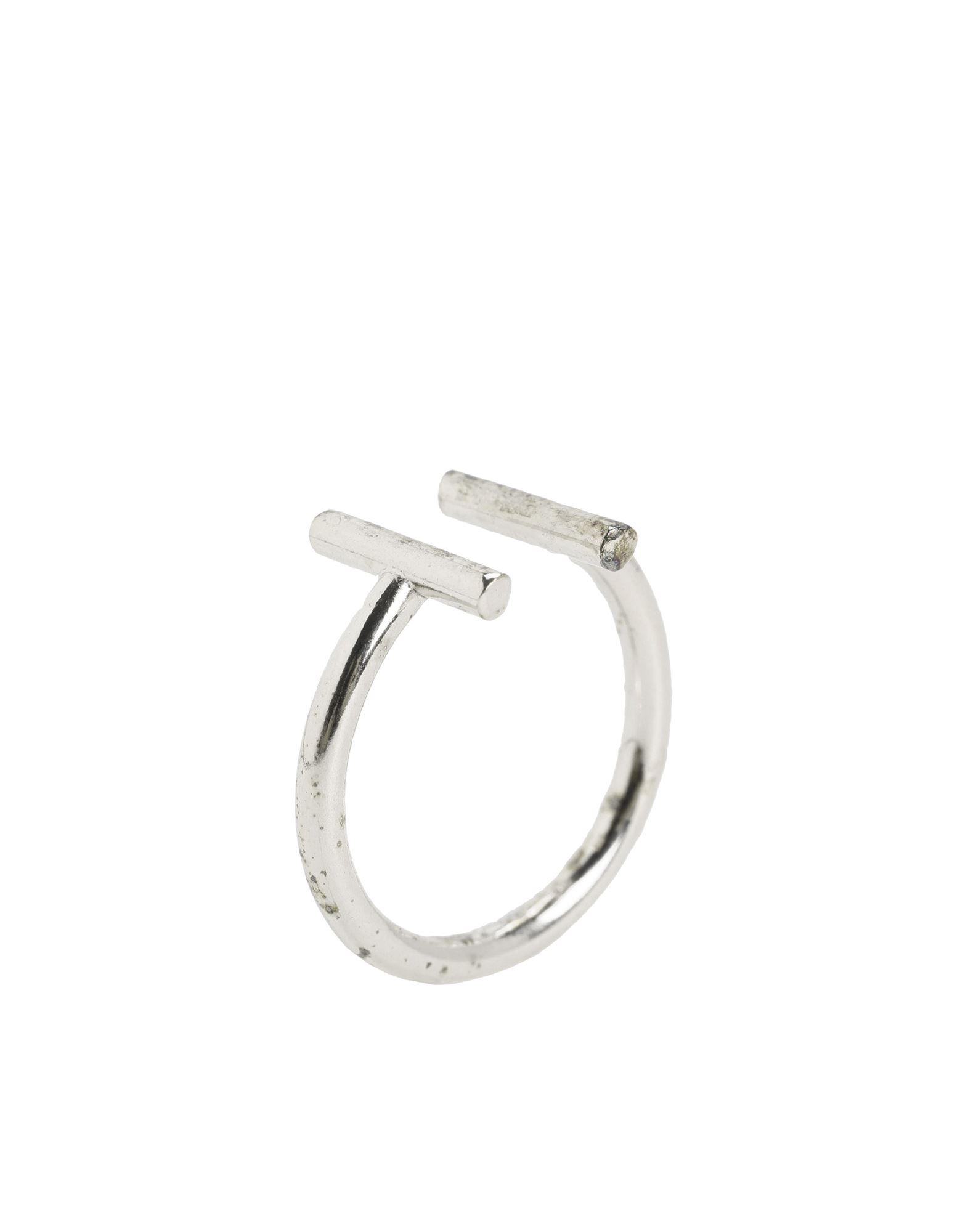《セール開催中》NOVE25 レディース 指輪 シルバー 10 シルバー925/1000 DOUBLE BAR OPEN FINE RING