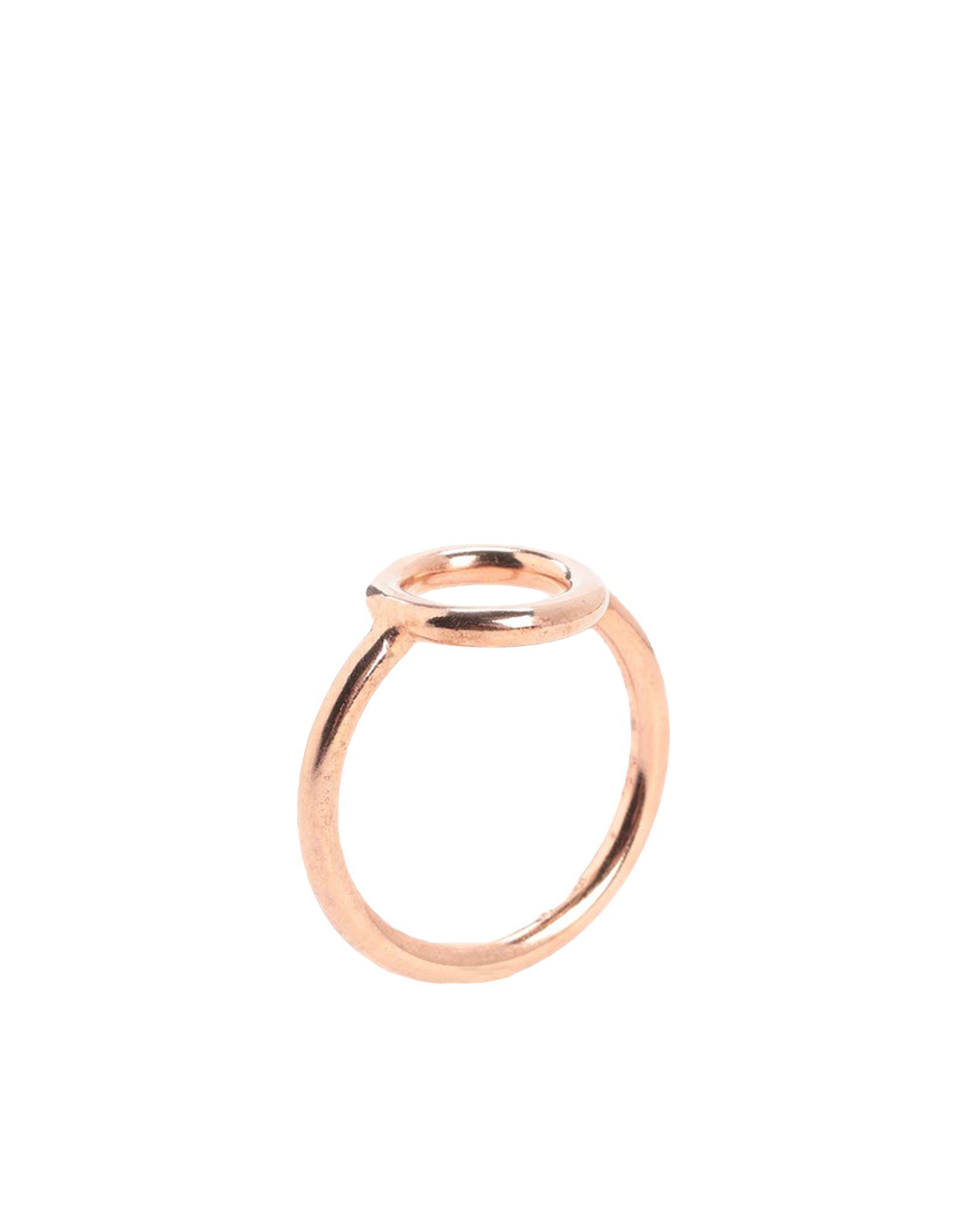 《セール開催中》NOVE25 レディース 指輪 カッパー 10 シルバー925/1000 CIRCLE FINE RING