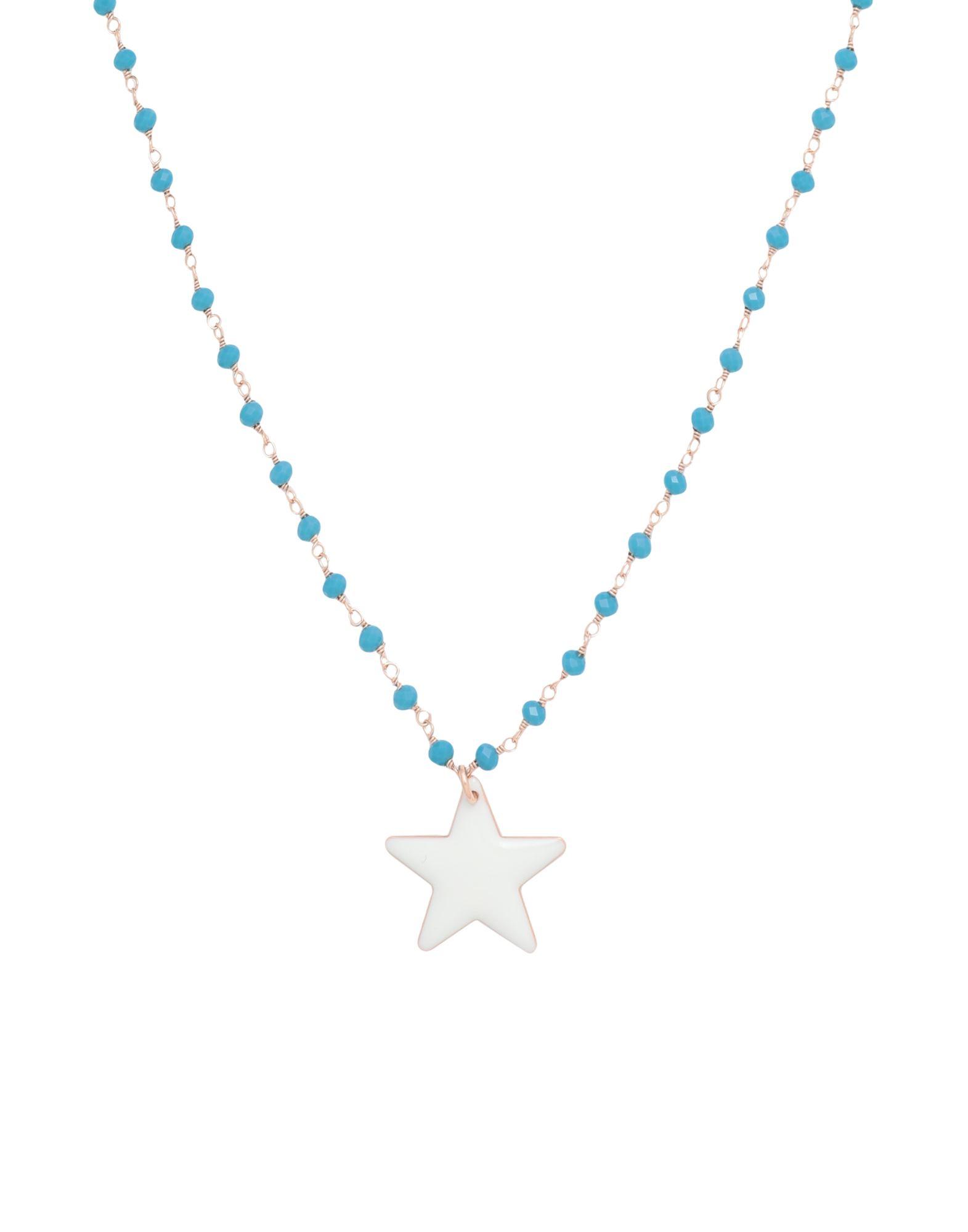 《セール開催中》FIRST PEOPLE FIRST レディース ネックレス ターコイズブルー 真鍮/ブラス STELLAR NECKLACE