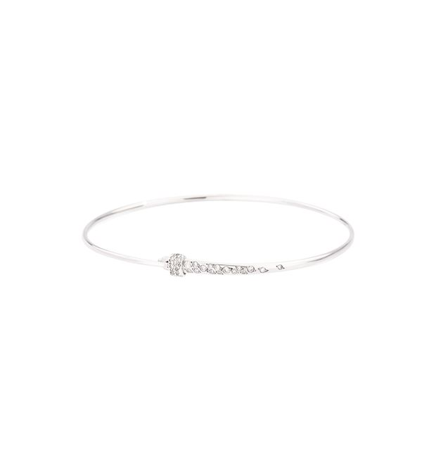 DODO Bracelet E Bangle with white diamonds f