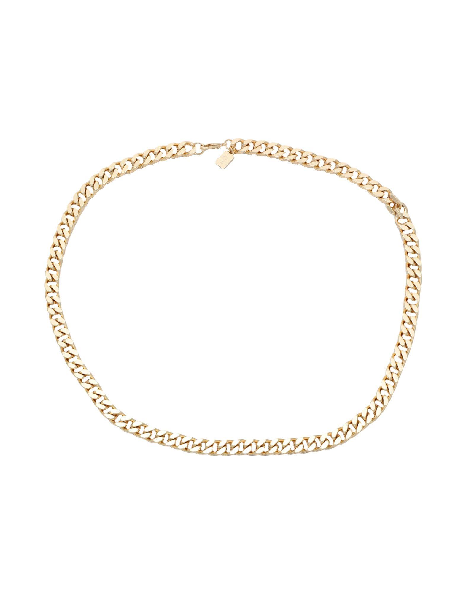 《セール開催中》CRYSTAL HAZE レディース ネックレス ゴールド 真鍮/ブラス / 18金メッキ PLAIN JANE CHAIN