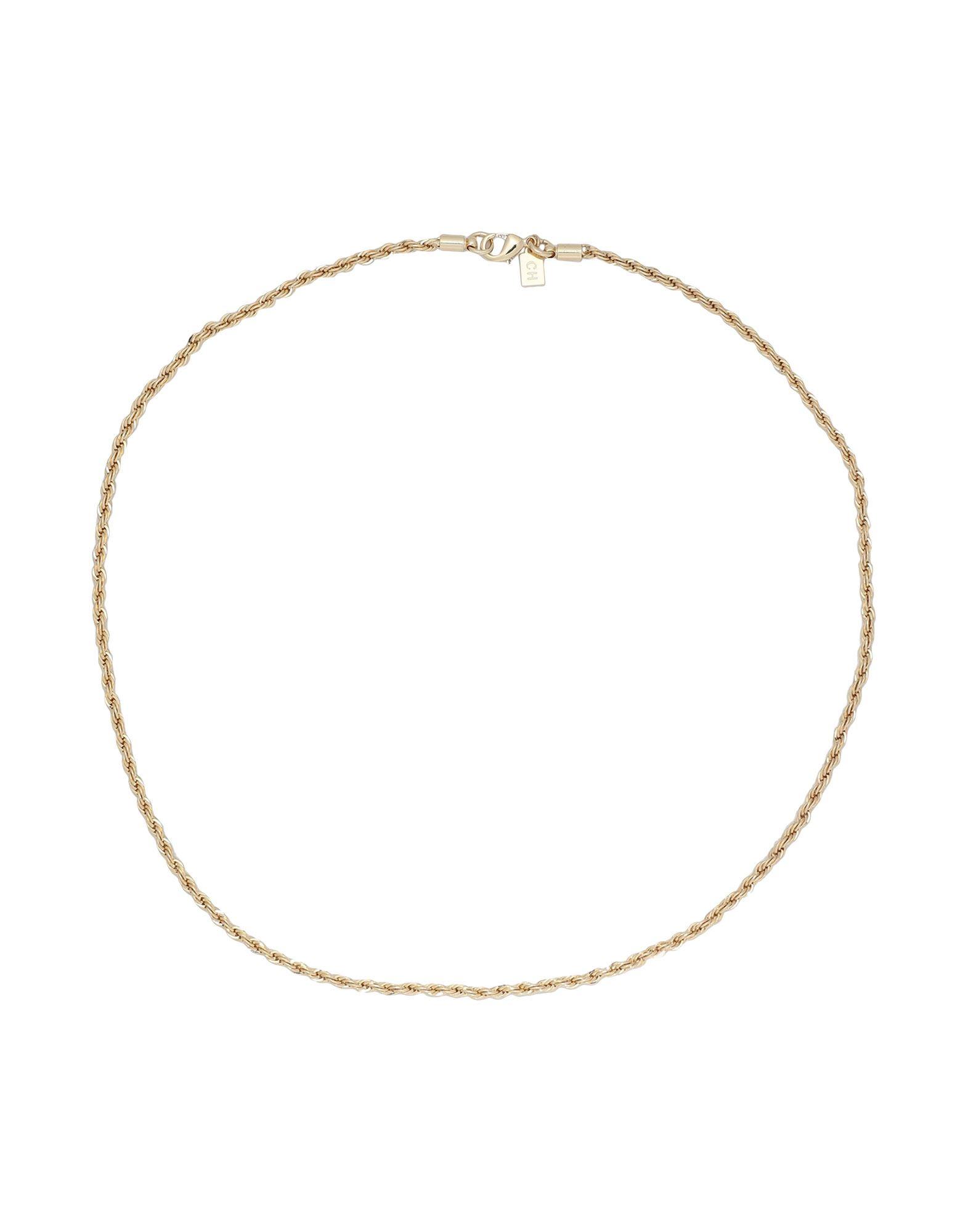 《セール開催中》CRYSTAL HAZE レディース ネックレス ゴールド 真鍮/ブラス / 18金メッキ ROPE CHAIN