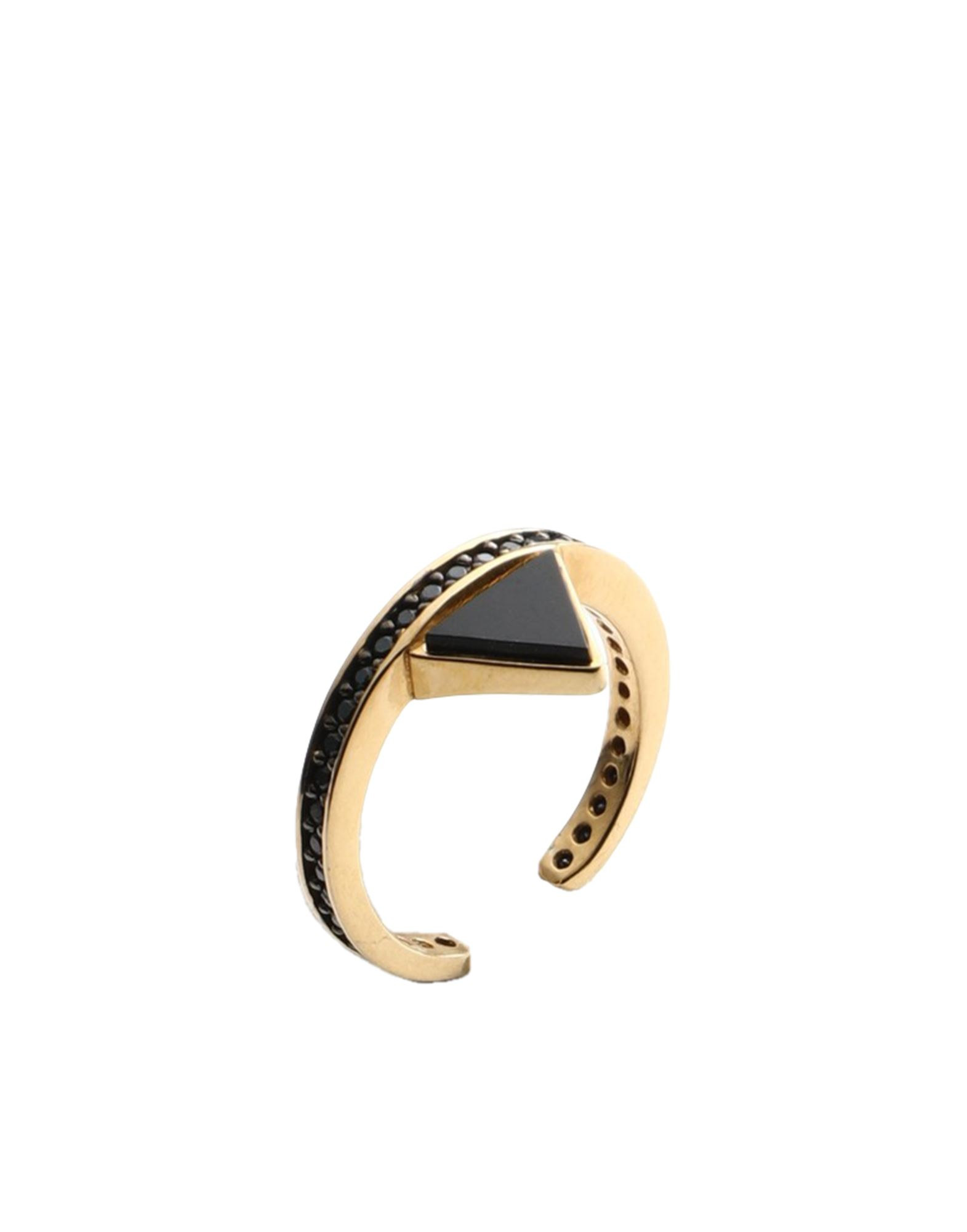 《セール開催中》FIRST PEOPLE FIRST レディース 指輪 ブラック one size シルバー925/1000 / ジルコン HE1524R/G/BZ