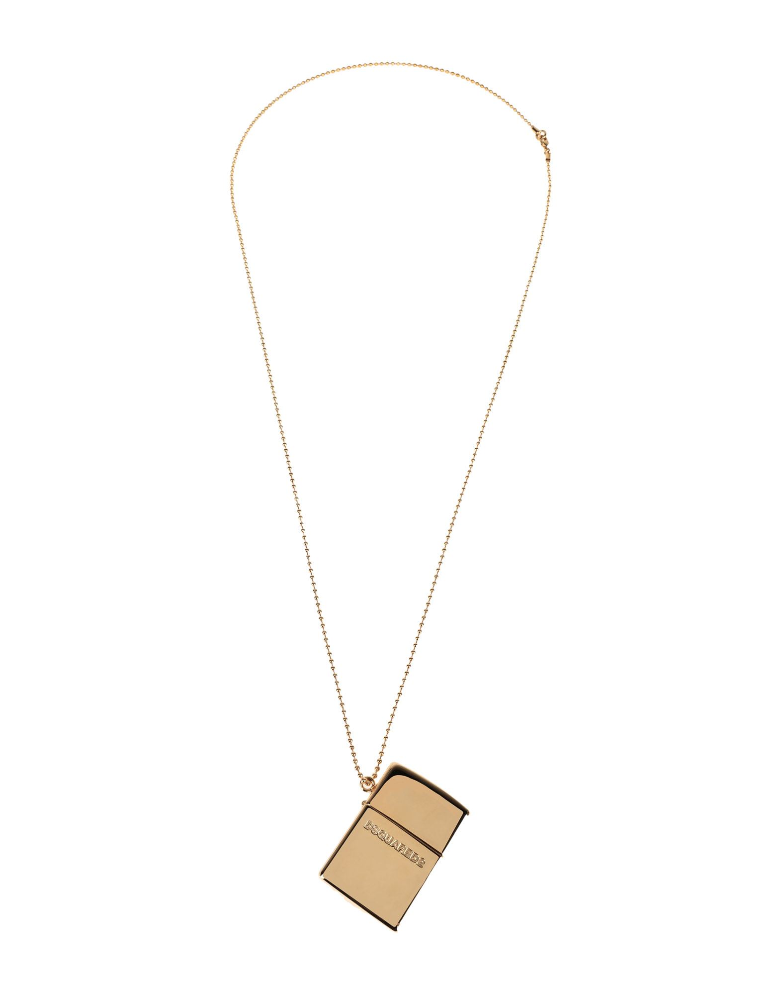《セール開催中》DSQUARED2 メンズ ネックレス ゴールド 真鍮/ブラス 100%