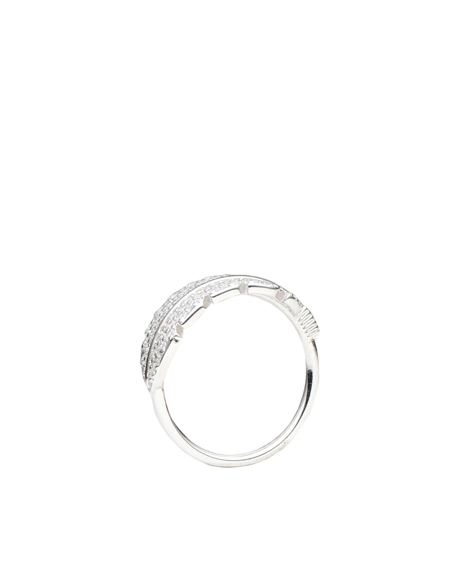《セール開催中》KURSHUNI レディース 指輪 シルバー 52 シルバー925/1000 / キュービックジルコニア PIUMA - LIBERT?