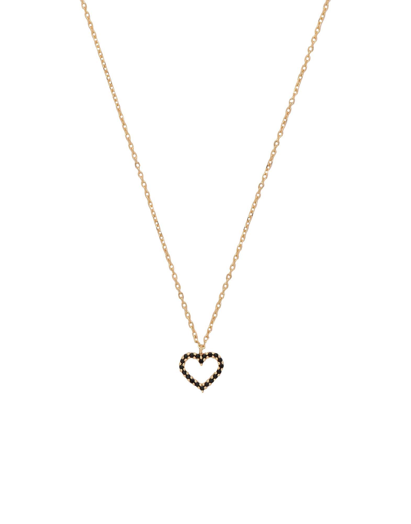 《セール開催中》P D PAOLA レディース ネックレス ゴールド シルバー925/1000 CO BLACK HEART
