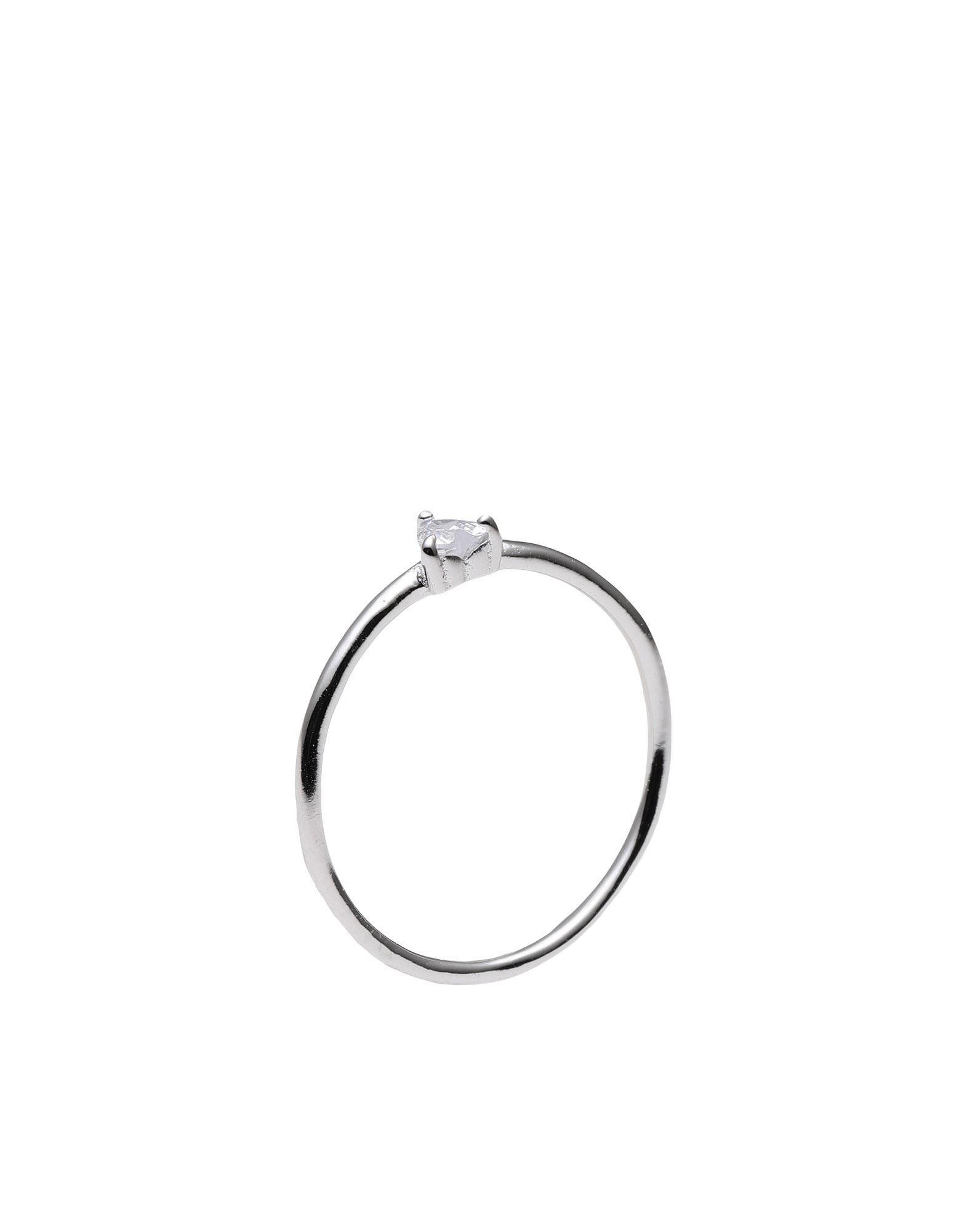 《セール開催中》P D PAOLA レディース 指輪 シルバー 10 シルバー925/1000 AN WHITE HEART