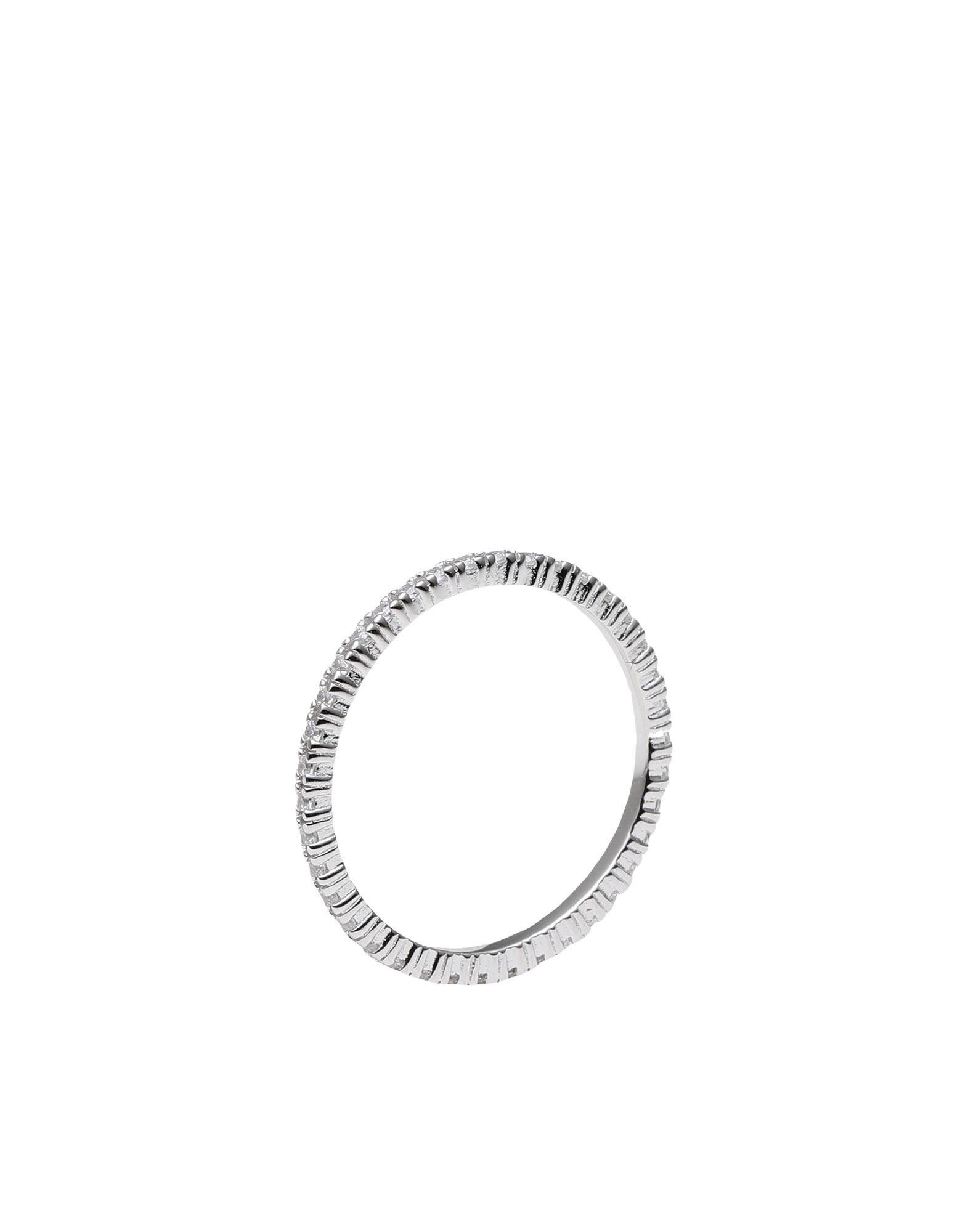 《セール開催中》P D PAOLA レディース 指輪 シルバー 10 シルバー925/1000 AN WHITE ESSENTIAL