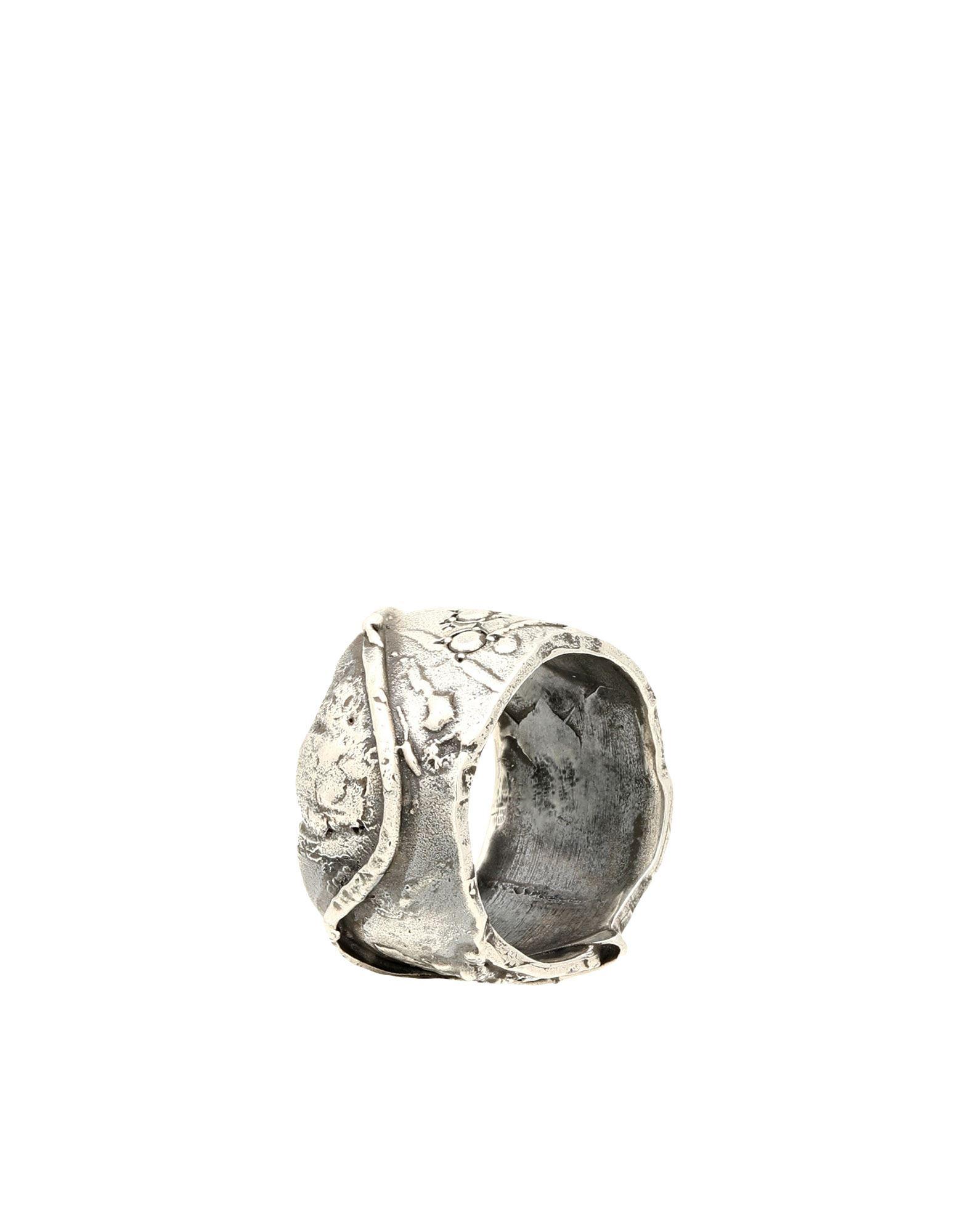 《セール開催中》FIRST PEOPLE FIRST レディース 指輪 鉛色 19 シルバー925/1000 ANELLO MOON SHADOW