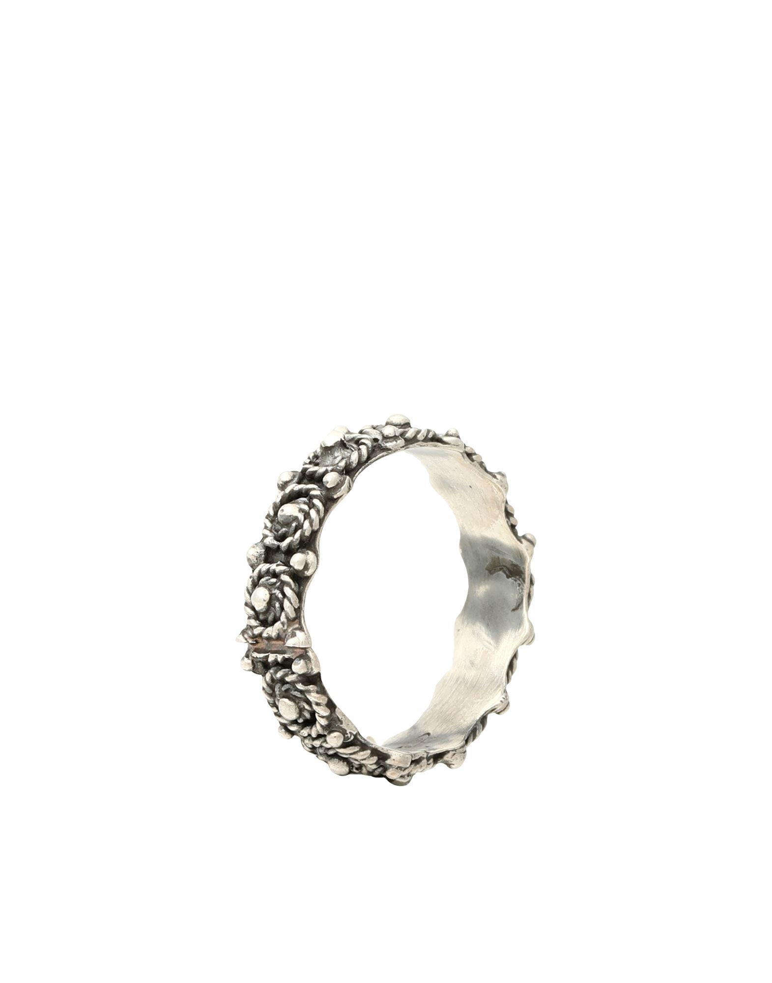 《セール開催中》FIRST PEOPLE FIRST レディース 指輪 鉛色 15 シルバー925/1000 / スピネル FEDE BIZANTINA