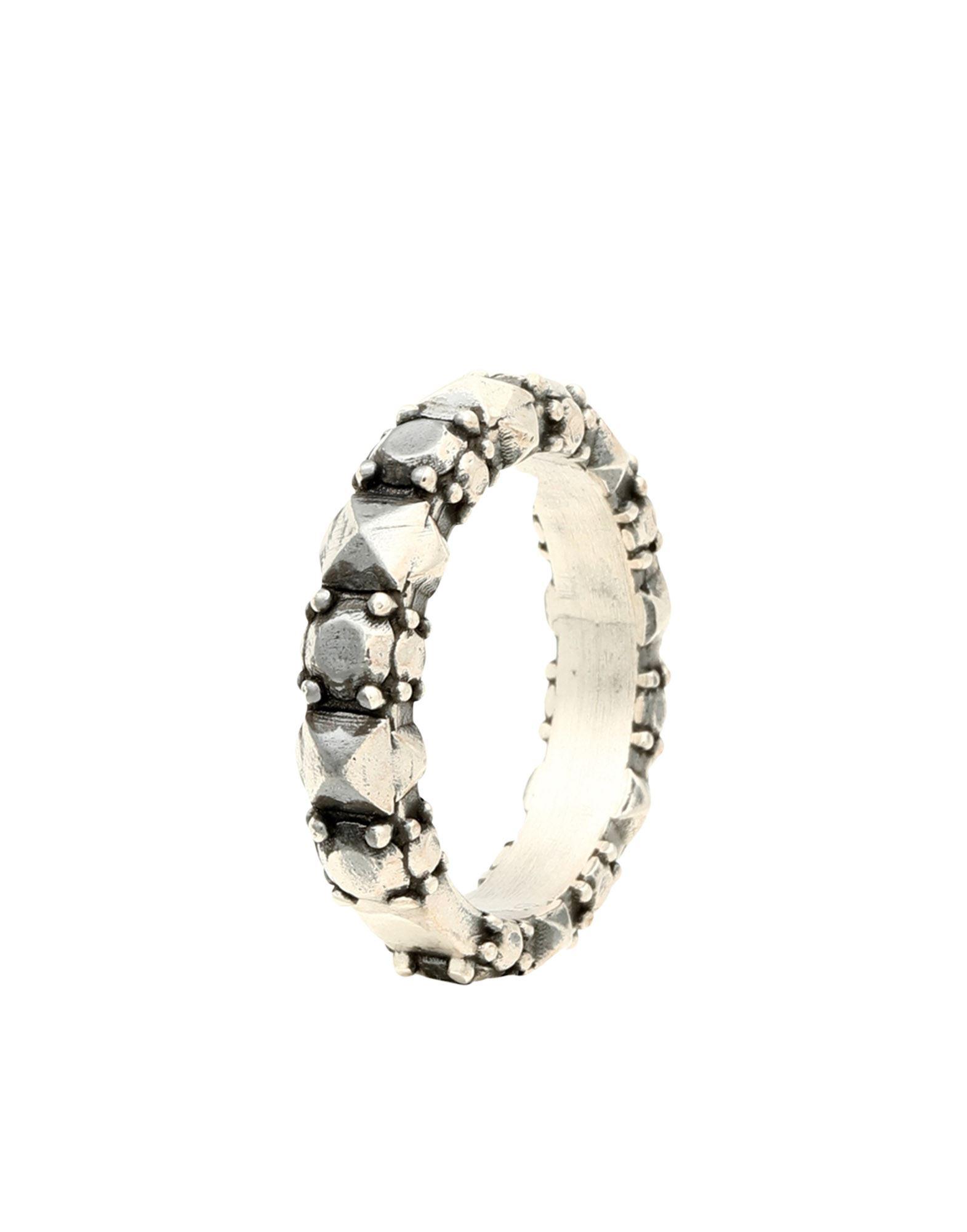 《セール開催中》FIRST PEOPLE FIRST レディース 指輪 鉛色 16 シルバー925/1000 FEDE CORONA