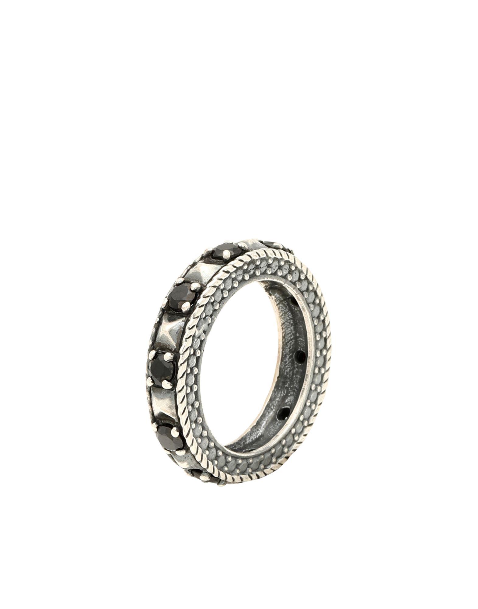 《セール開催中》FIRST PEOPLE FIRST レディース 指輪 鉛色 14 シルバー925/1000 ANELLO ETERNITY SMALL