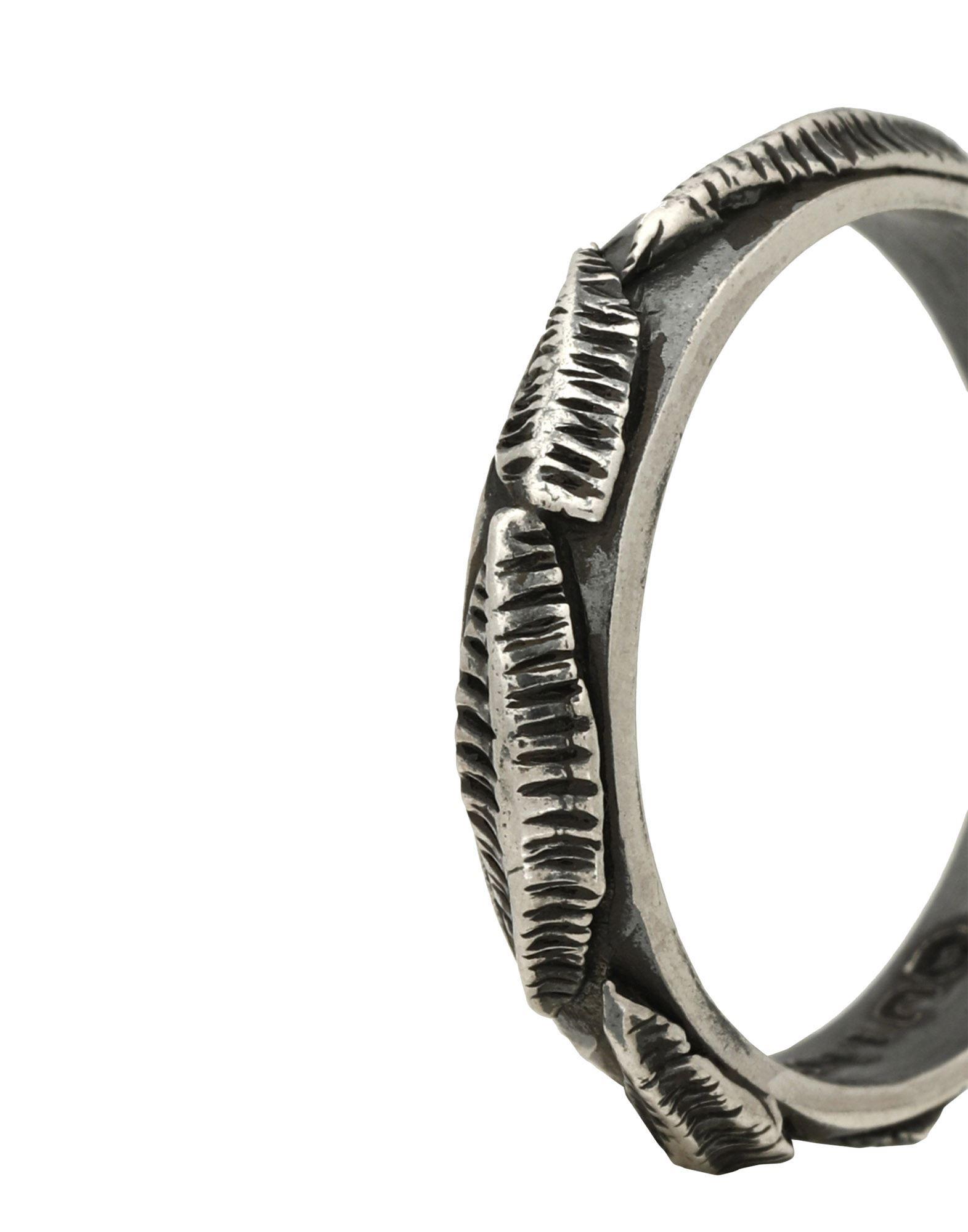 《セール開催中》FIRST PEOPLE FIRST レディース 指輪 鉛色 13 シルバー925/1000 FEDE CEDRINA