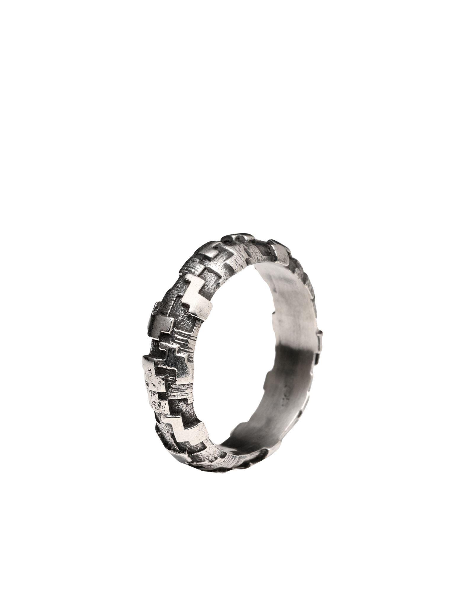 《セール開催中》FIRST PEOPLE FIRST メンズ 指輪 シルバー 18 シルバー925/1000 FEDE PIXEL