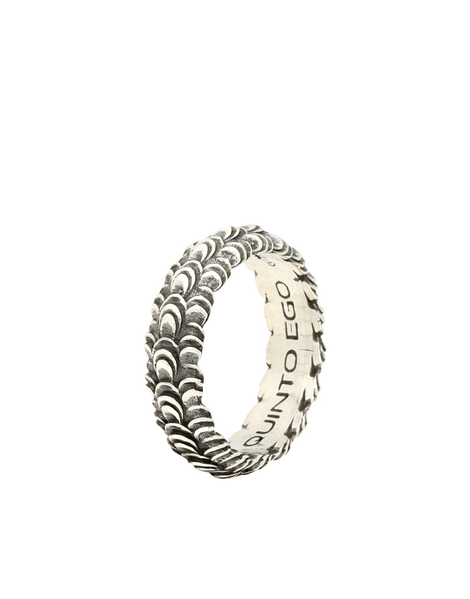《セール開催中》FIRST PEOPLE FIRST レディース 指輪 鉛色 15 シルバー925/1000 FEDE VANTO