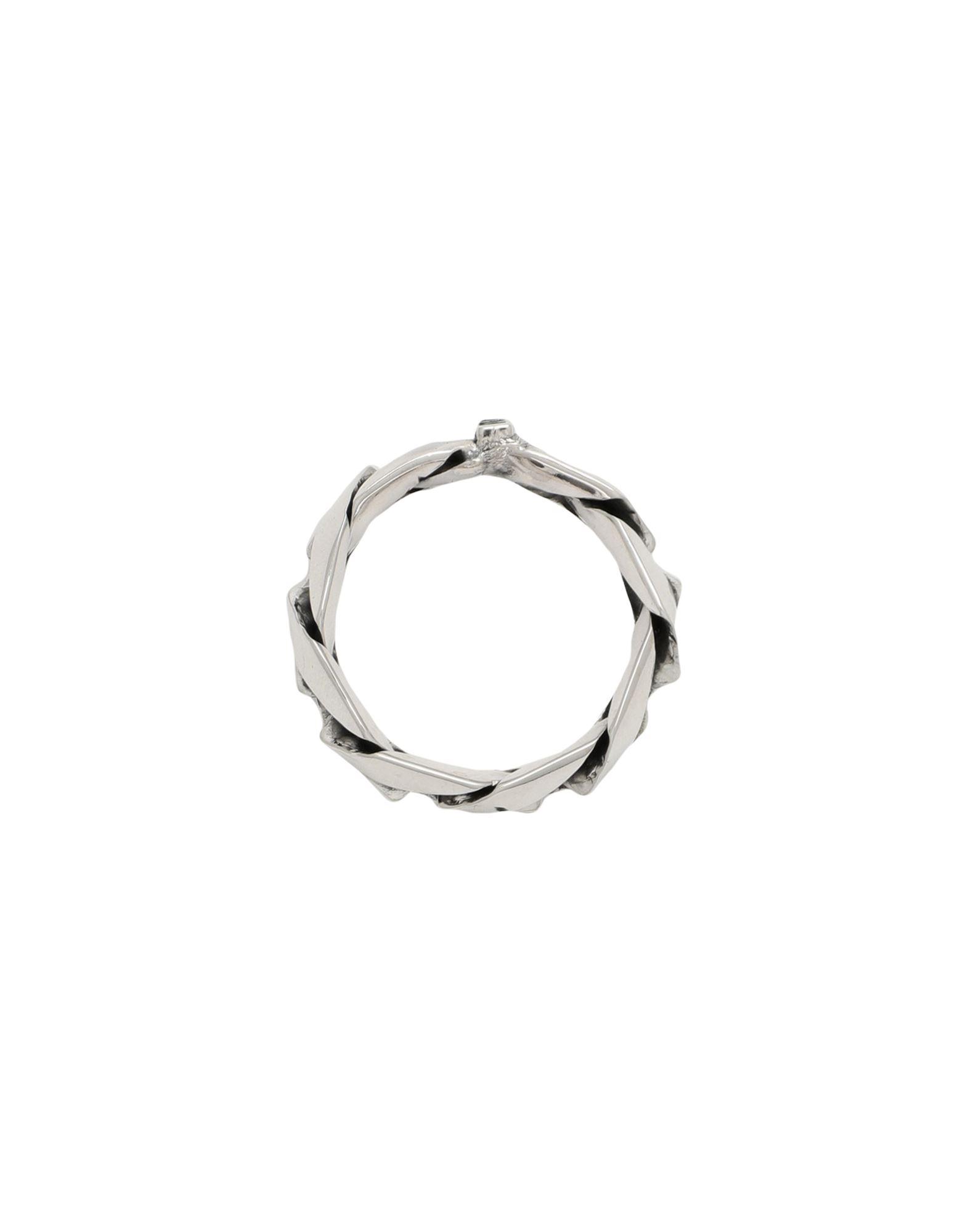 EMANUELE BICOCCHI エマヌエーレ・ビコッキ Unisex 指輪 CHAIN RING シルバー