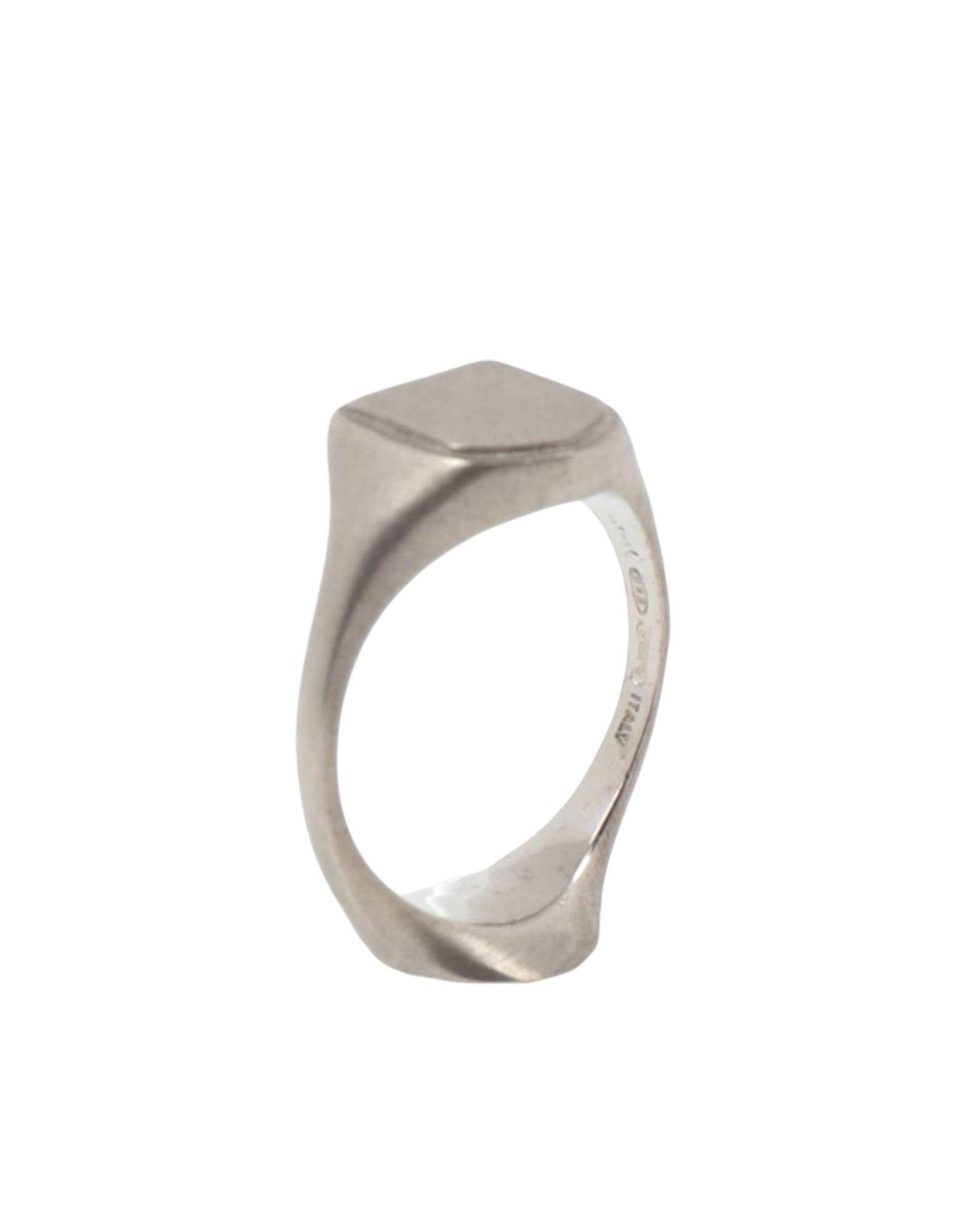 《セール開催中》MAISON MARGIELA レディース 指輪 シルバー XS シルバー925/1000