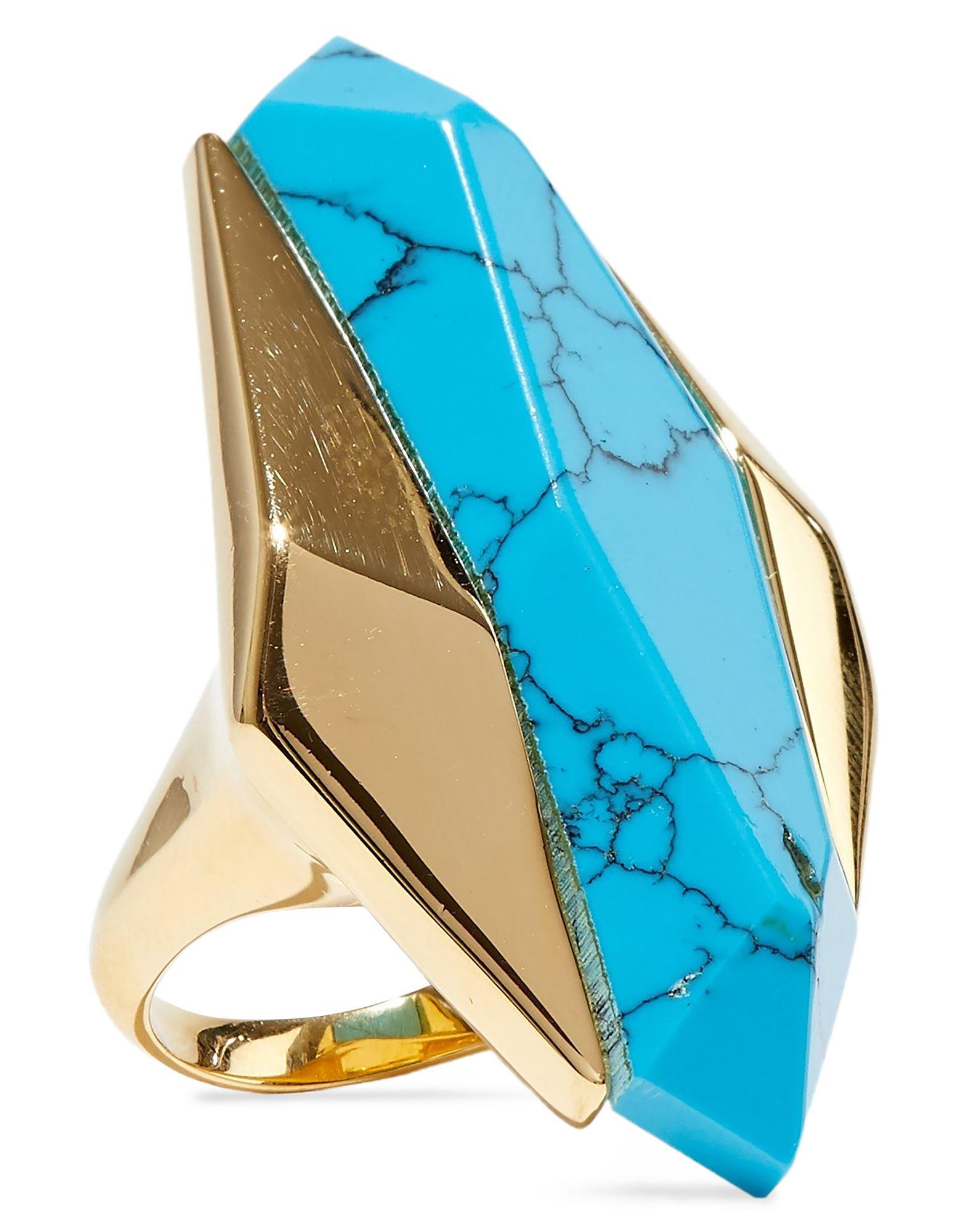 《セール開催中》NOIR JEWELRY レディース 指輪 アジュールブルー 8 金属