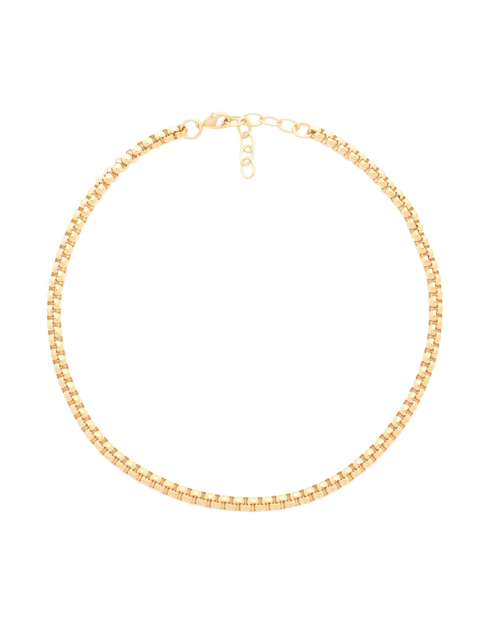 《セール開催中》GALLERIA ARMADORO レディース ネックレス ゴールド 真鍮/ブラス / 18金メッキ GILDA CHAIN