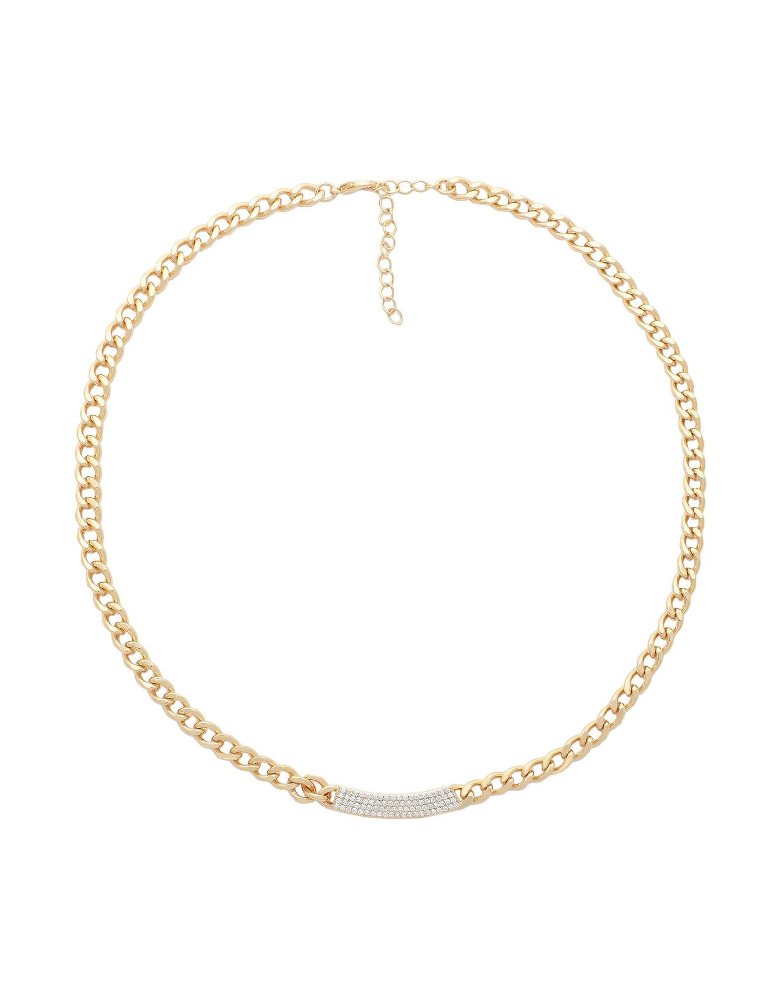 《セール開催中》GALLERIA ARMADORO レディース ネックレス ゴールド 真鍮/ブラス / 18金メッキ CATENA ID NECKLACE